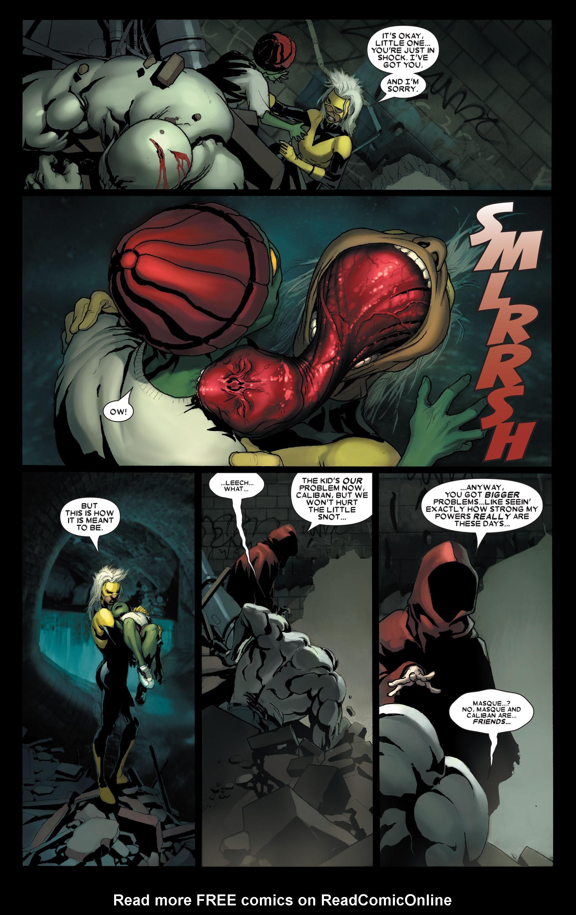 Read online Uncanny X-Men (1963) comic -  Issue #487 - 5