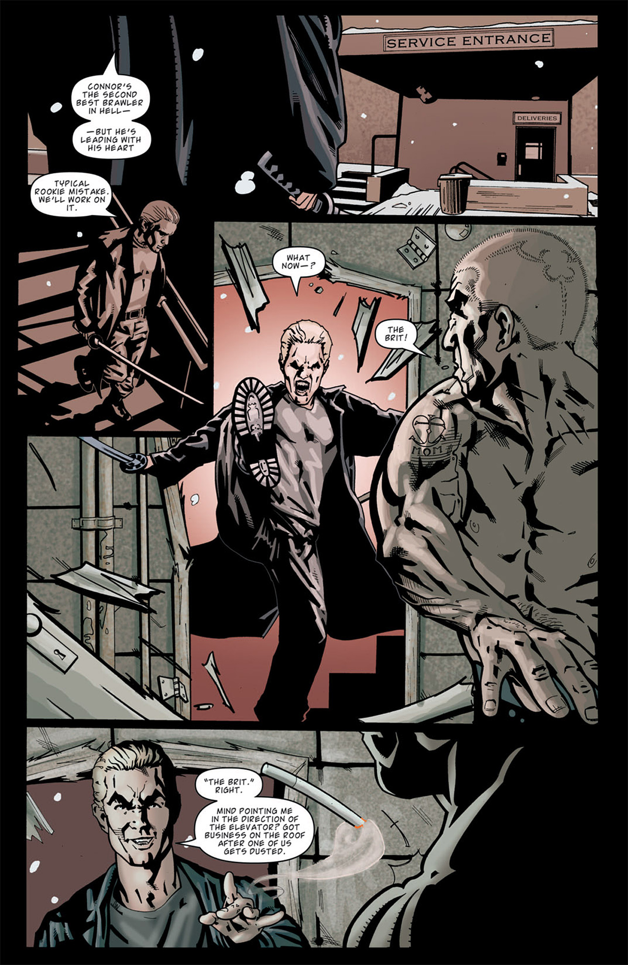 Read online Angel: After The Fall comic -  Issue #13 - 5