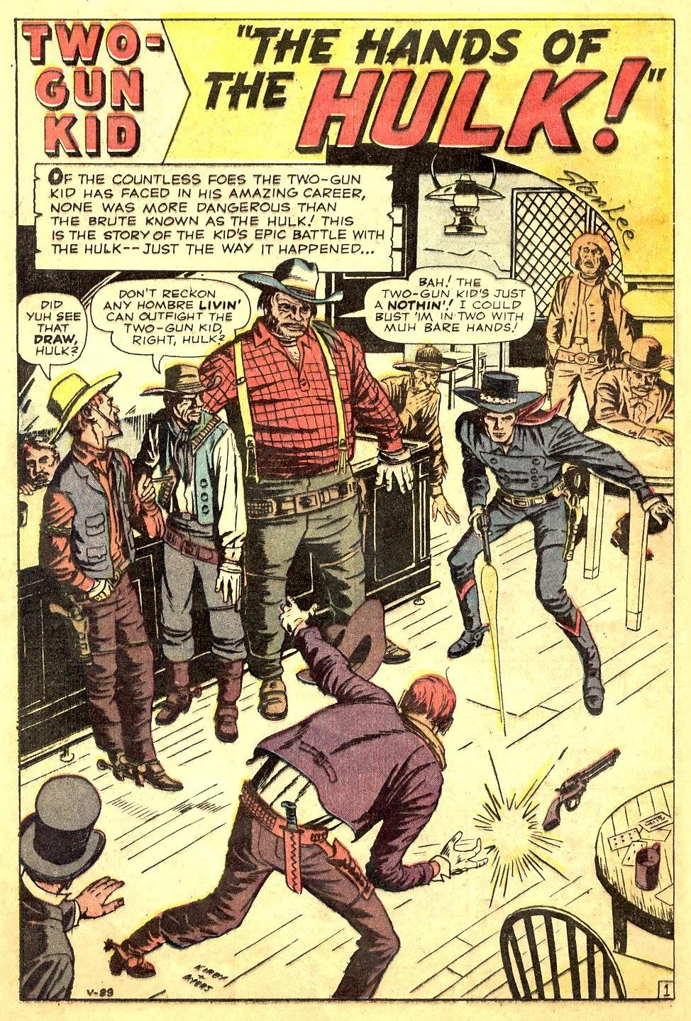 Gunsmoke Western issue 63 - Page 12