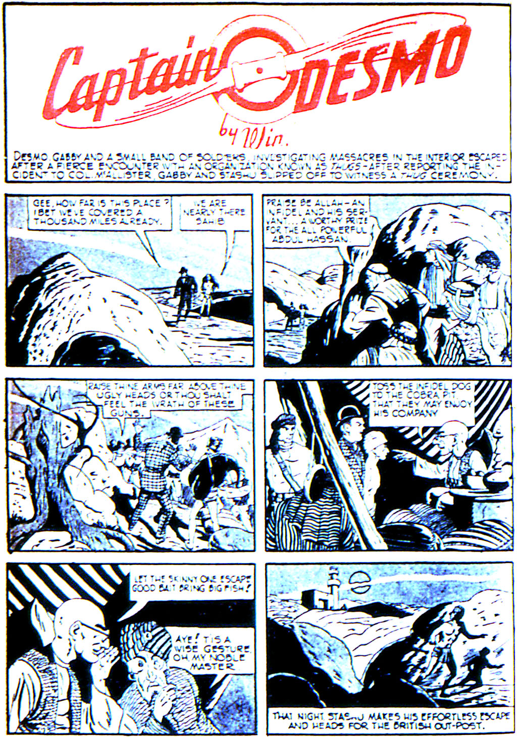 Read online Adventure Comics (1938) comic -  Issue #42 - 36