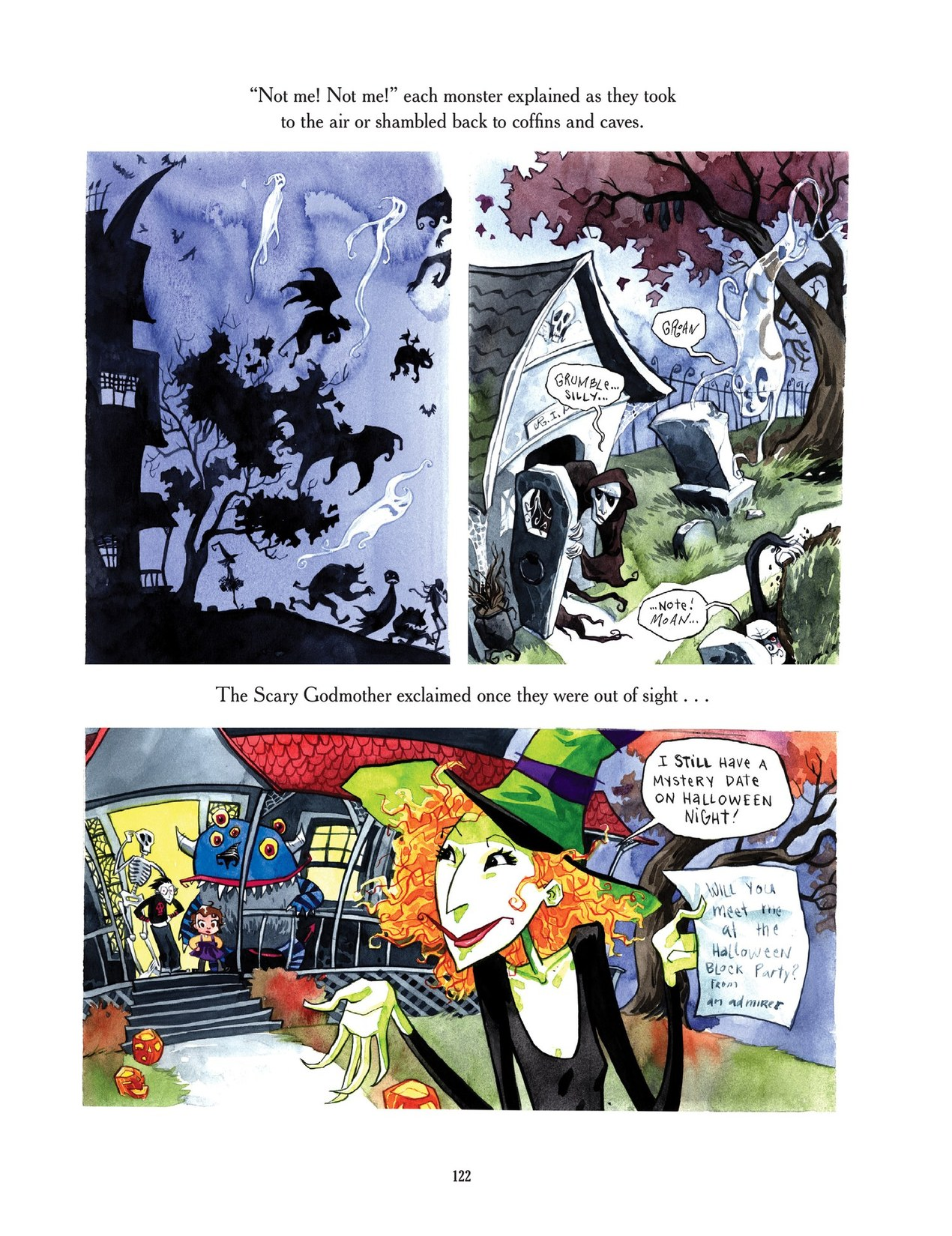 Read online Scary Godmother comic -  Issue # TPB - 122