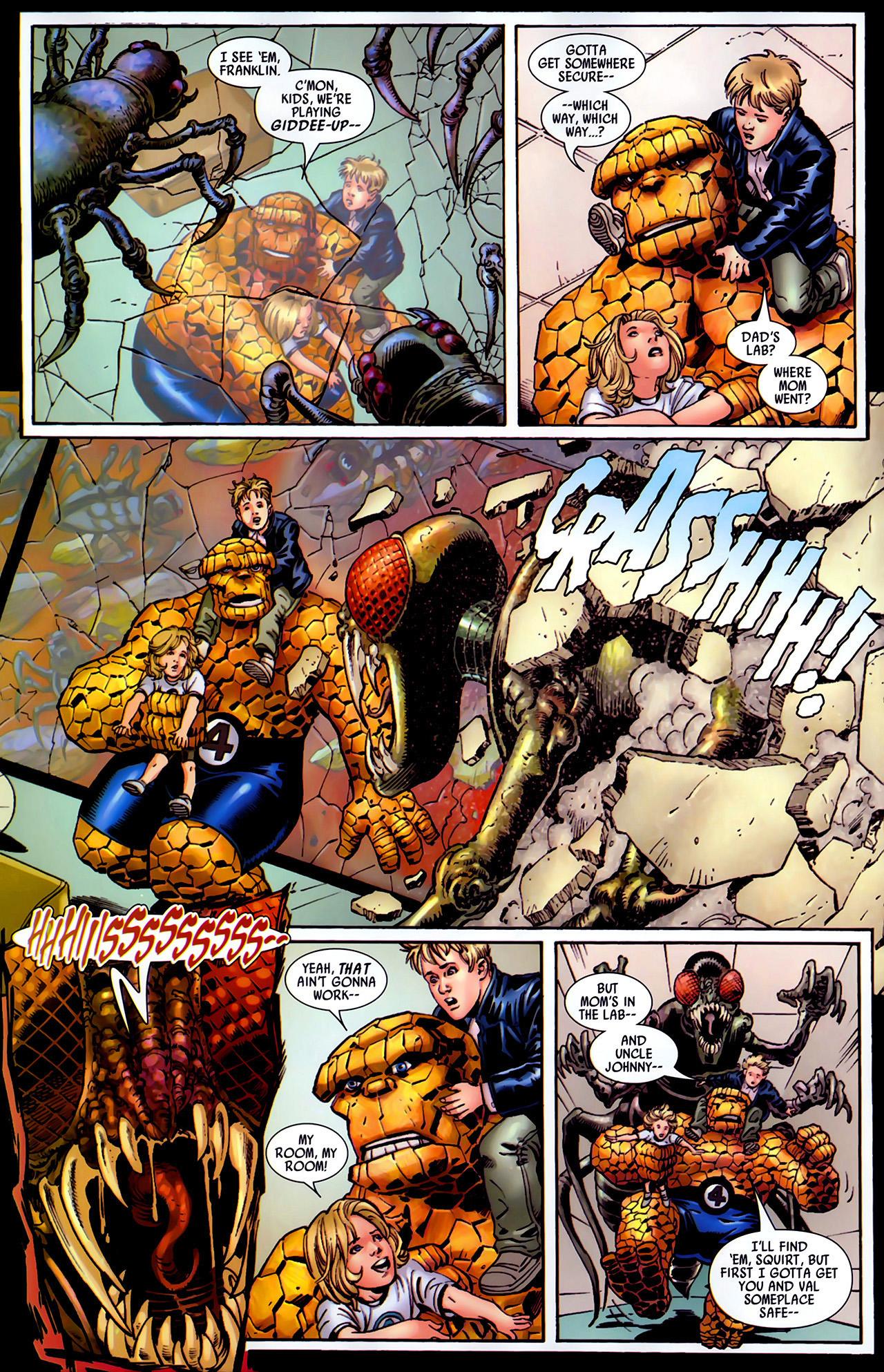 Read online Secret Invasion: Fantastic Four comic -  Issue #1 - 15