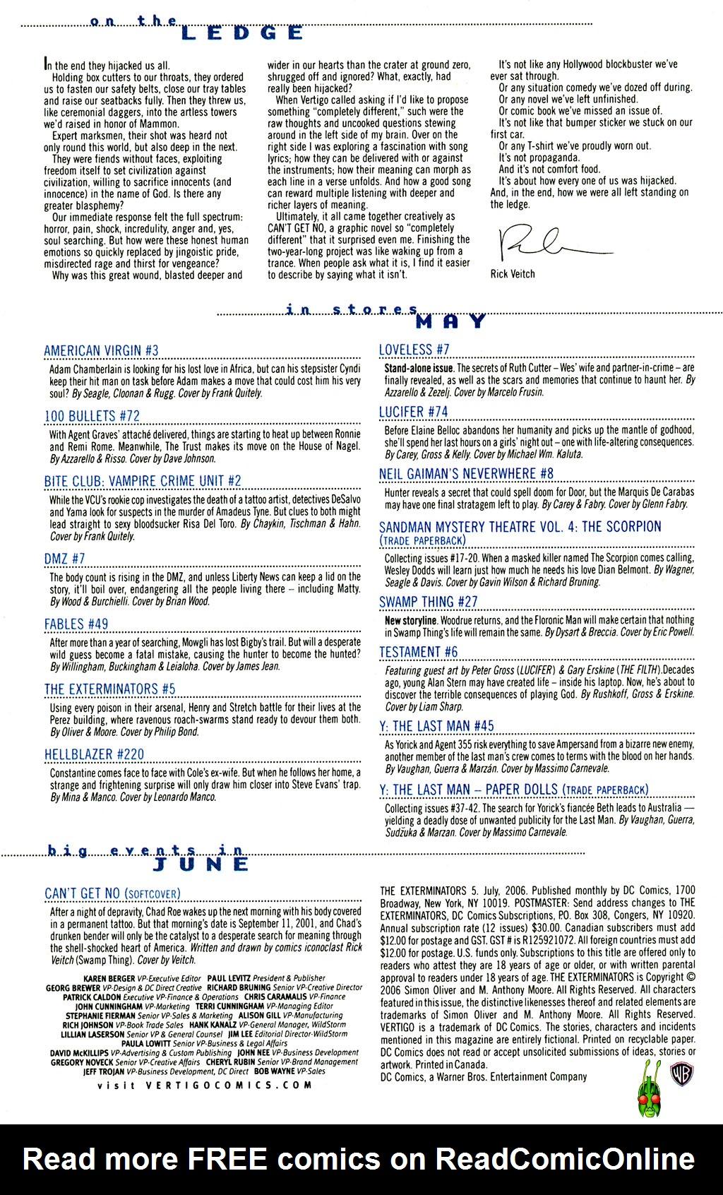 Read online The Exterminators comic -  Issue #5 - 24
