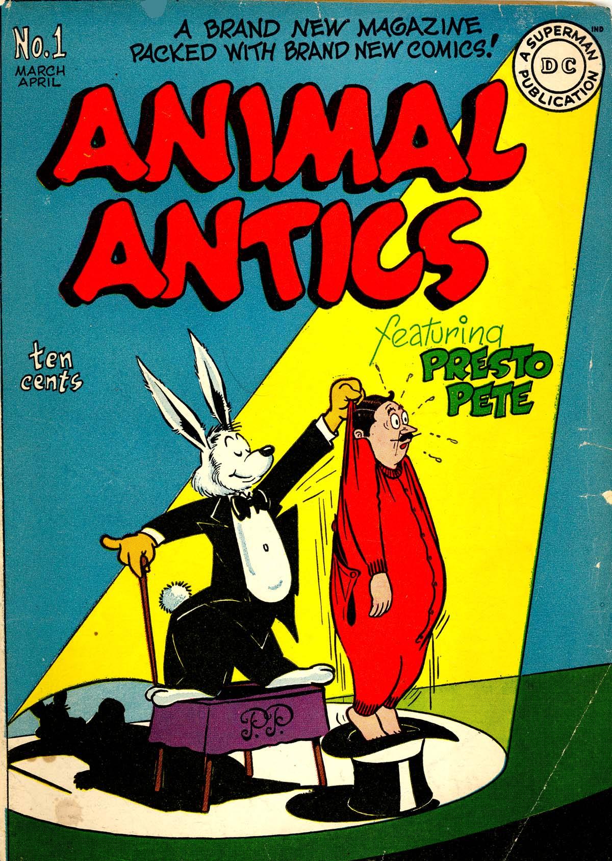 Read online Animal Antics comic -  Issue #1 - 1