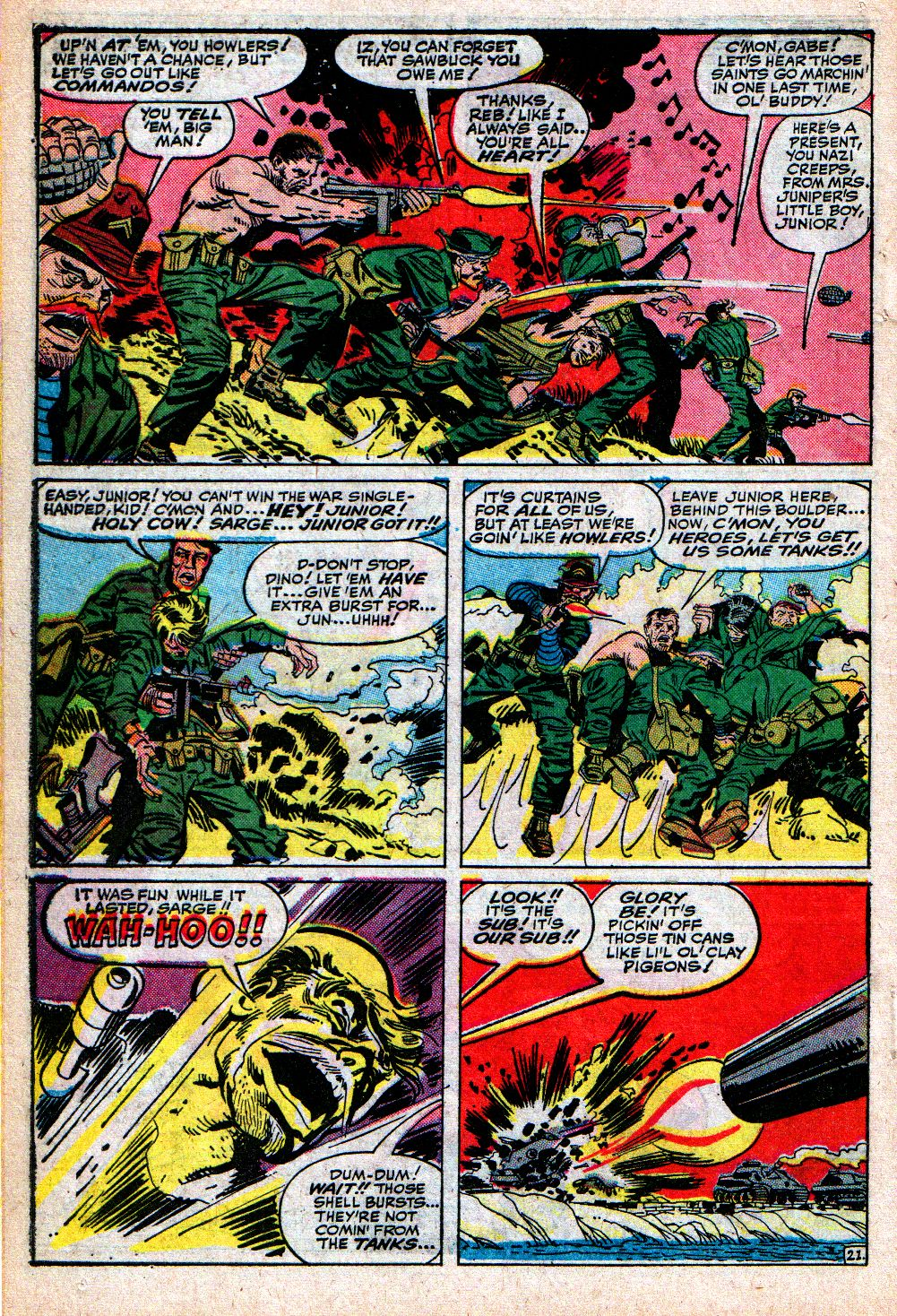 Read online Sgt. Fury comic -  Issue #4 - 30
