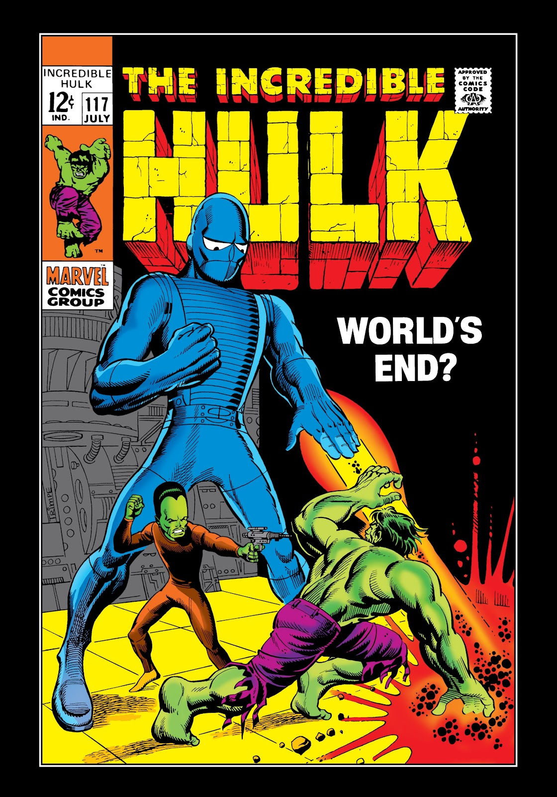 Read online Marvel Masterworks: The Incredible Hulk comic -  Issue # TPB 5 (Part 2) - 32