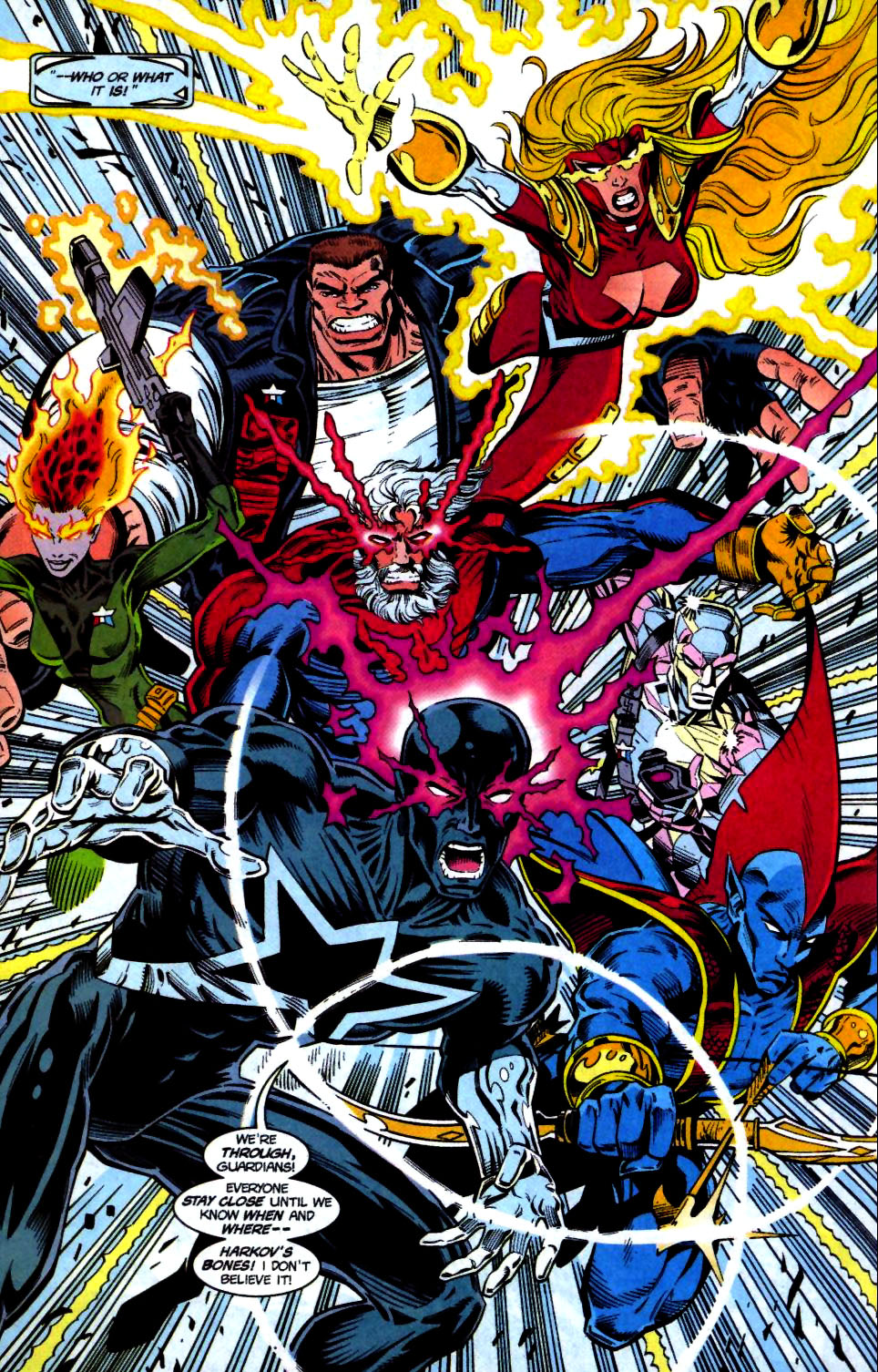 The New Warriors Issue #68 #72 - English 11