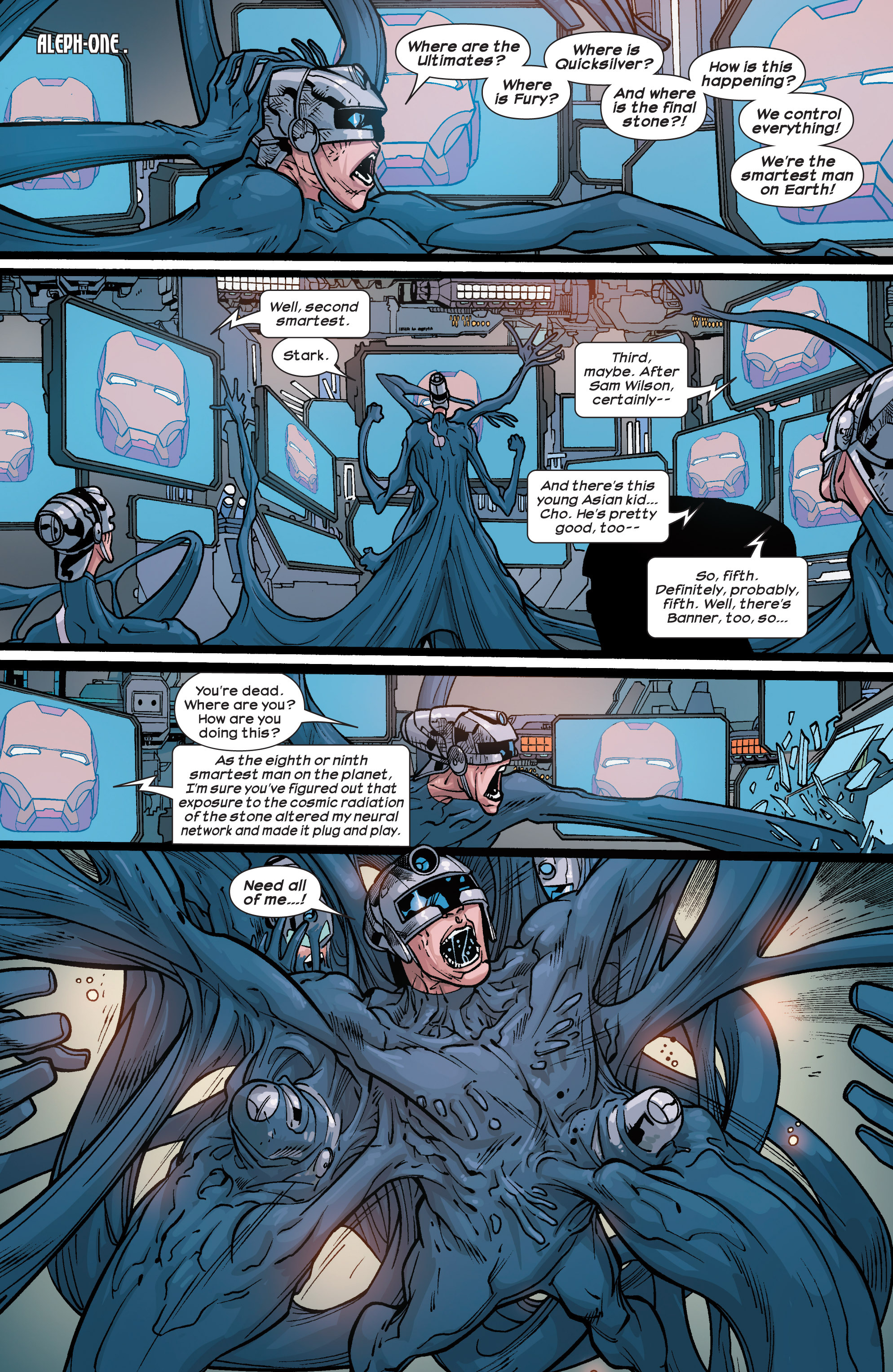 Read online Ultimate Comics Ultimates comic -  Issue #29 - 15