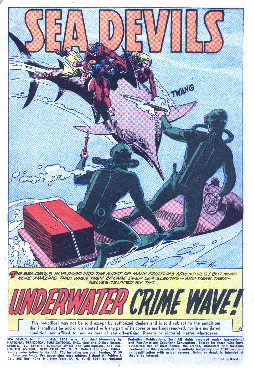 Read online Sea Devils comic -  Issue #3 - 4