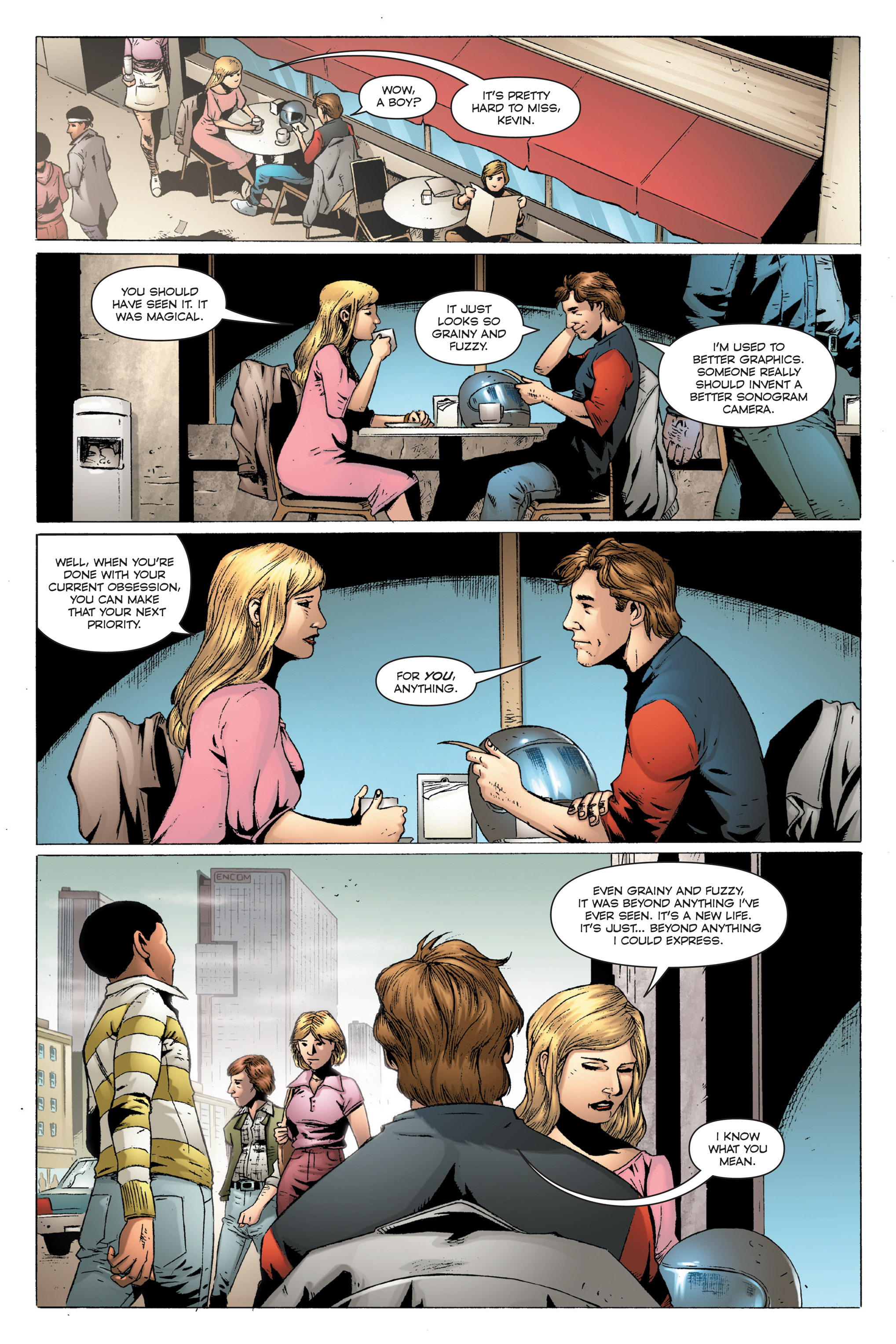 Read online TRON: Betrayal comic -  Issue # TPB - 23