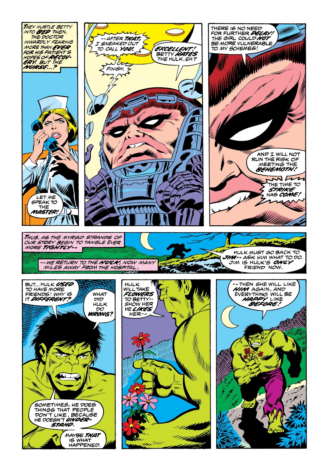 Read online Marvel Masterworks: The Incredible Hulk comic -  Issue # TPB 9 (Part 3) - 30