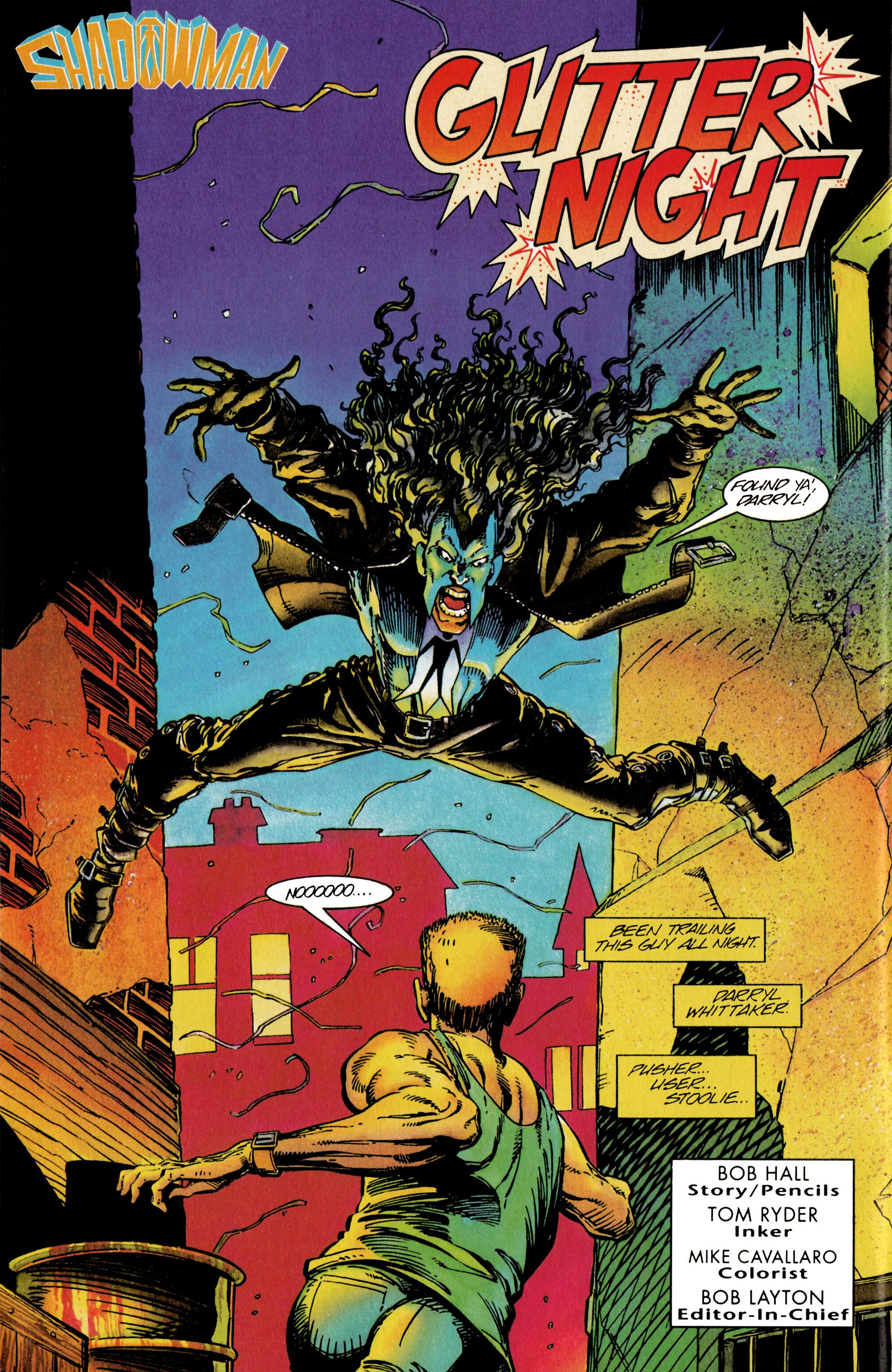 Read online Shadowman (1992) comic -  Issue #26 - 3