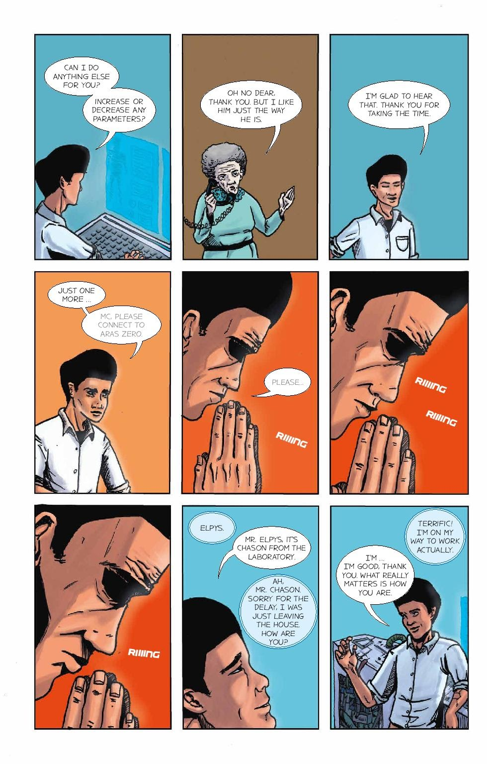Read online Wolvv comic -  Issue #1 - 20