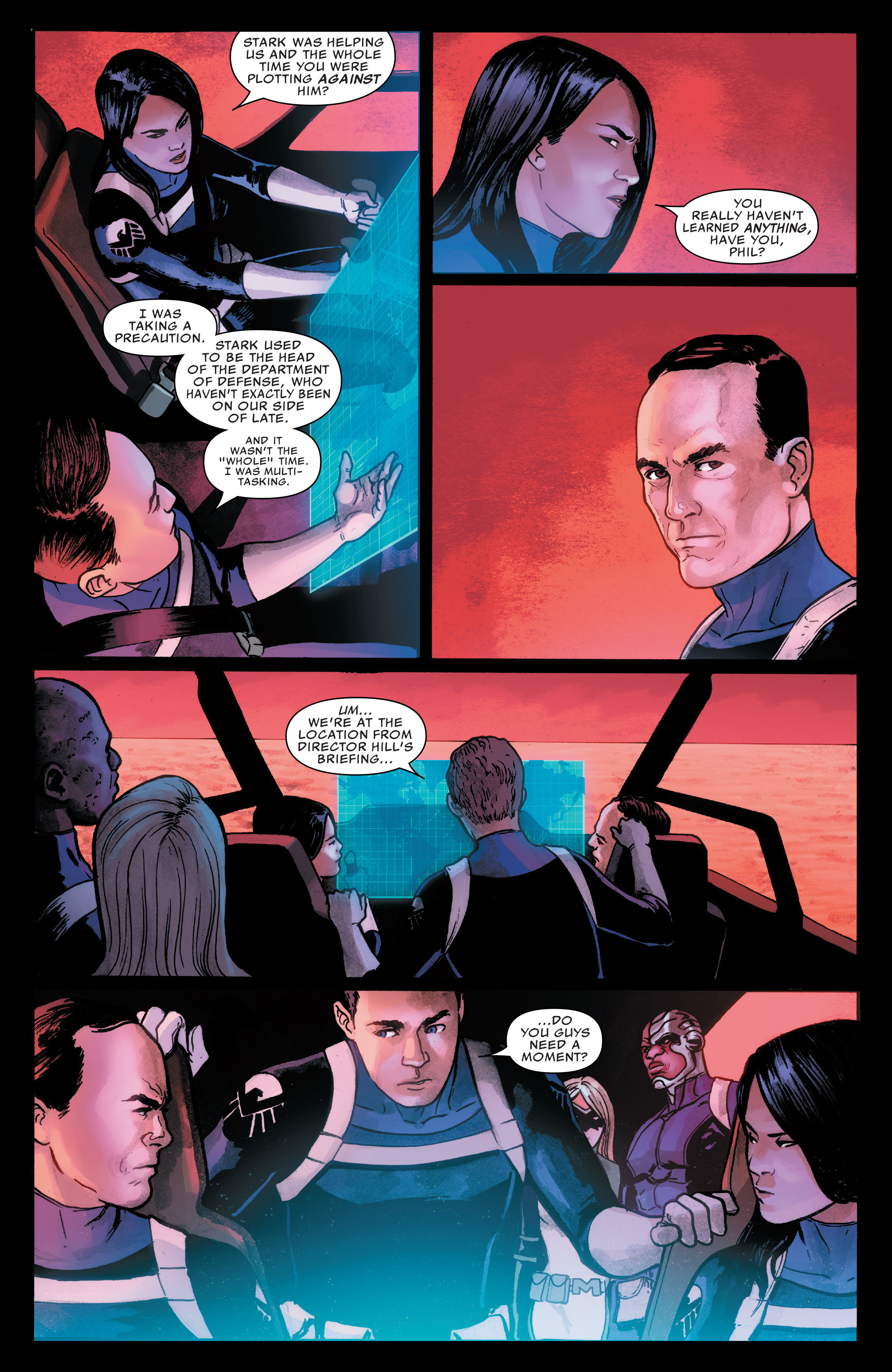 Read online Agents of S.H.I.E.L.D. comic -  Issue #7 - 10