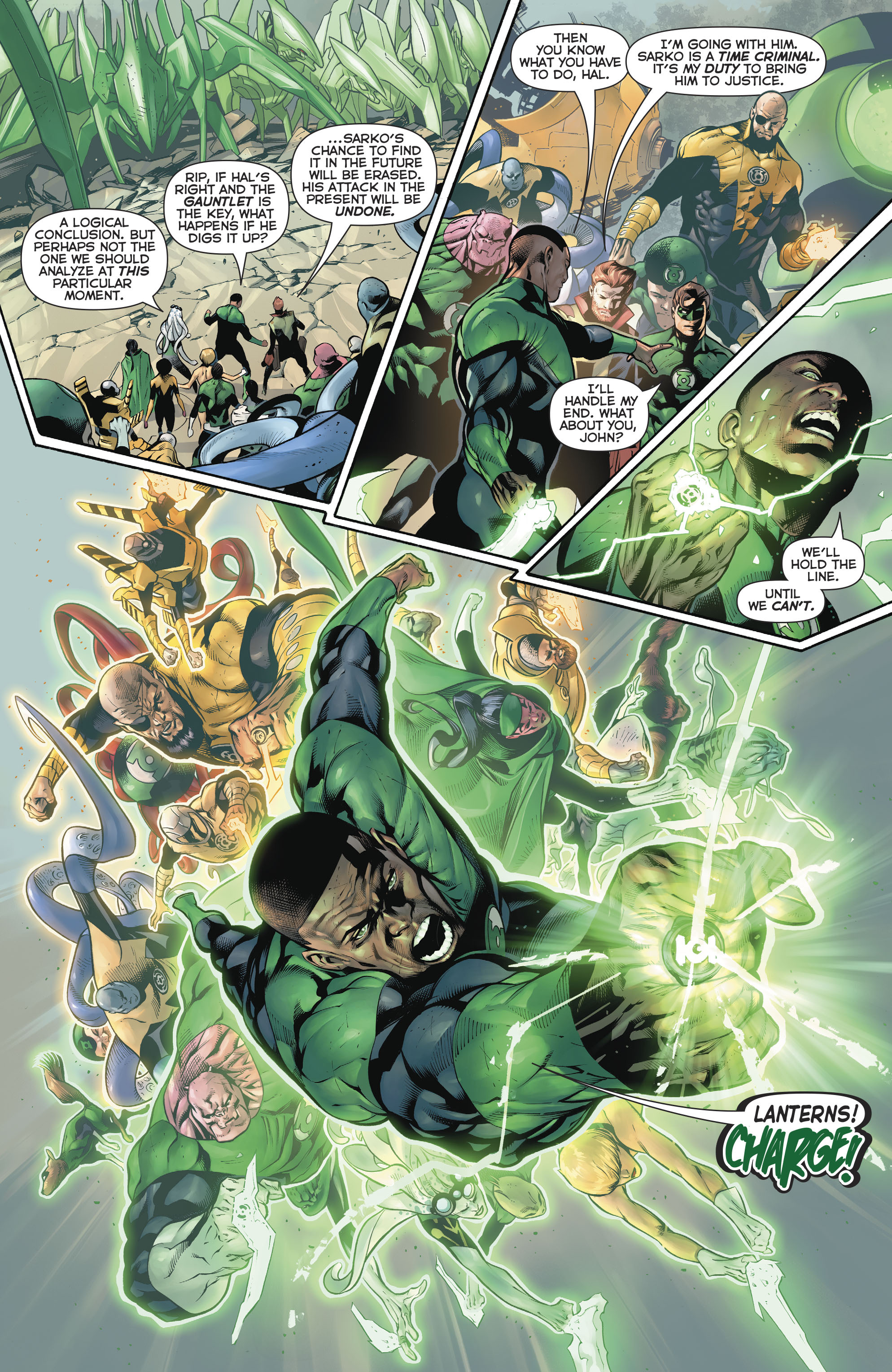 Read online Hal Jordan And The Green Lantern Corps comic -  Issue #20 - 16