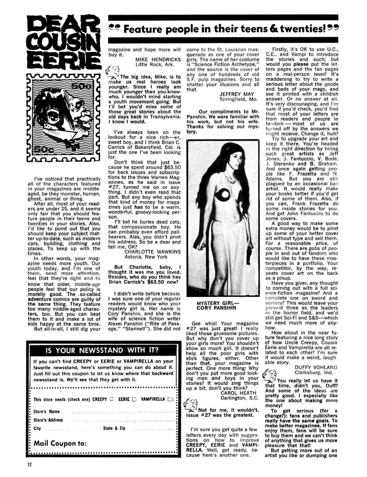 Read online Eerie Archives comic -  Issue # TPB 6 - 73