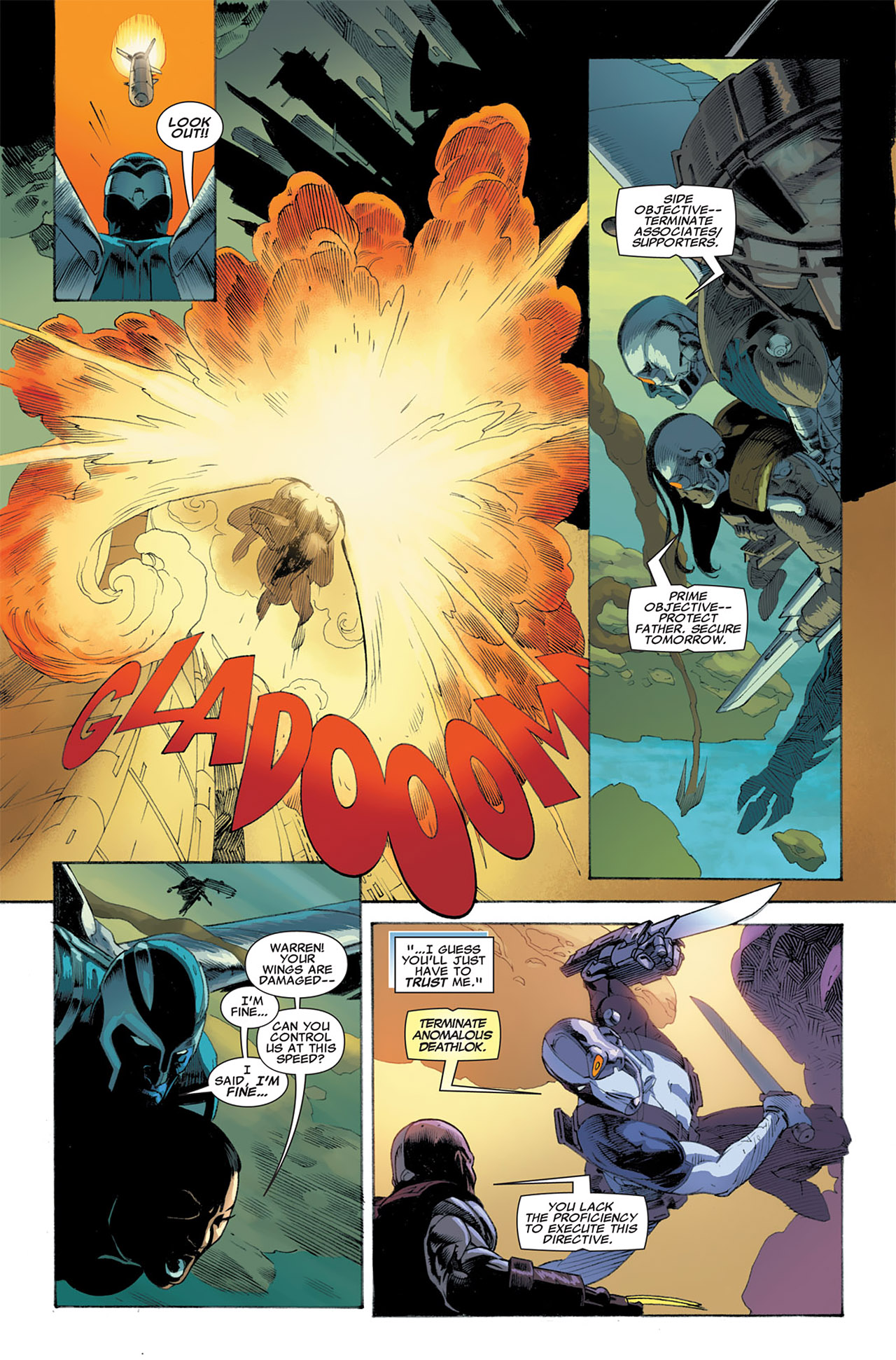 Read online Uncanny X-Force (2010) comic -  Issue #7 - 9