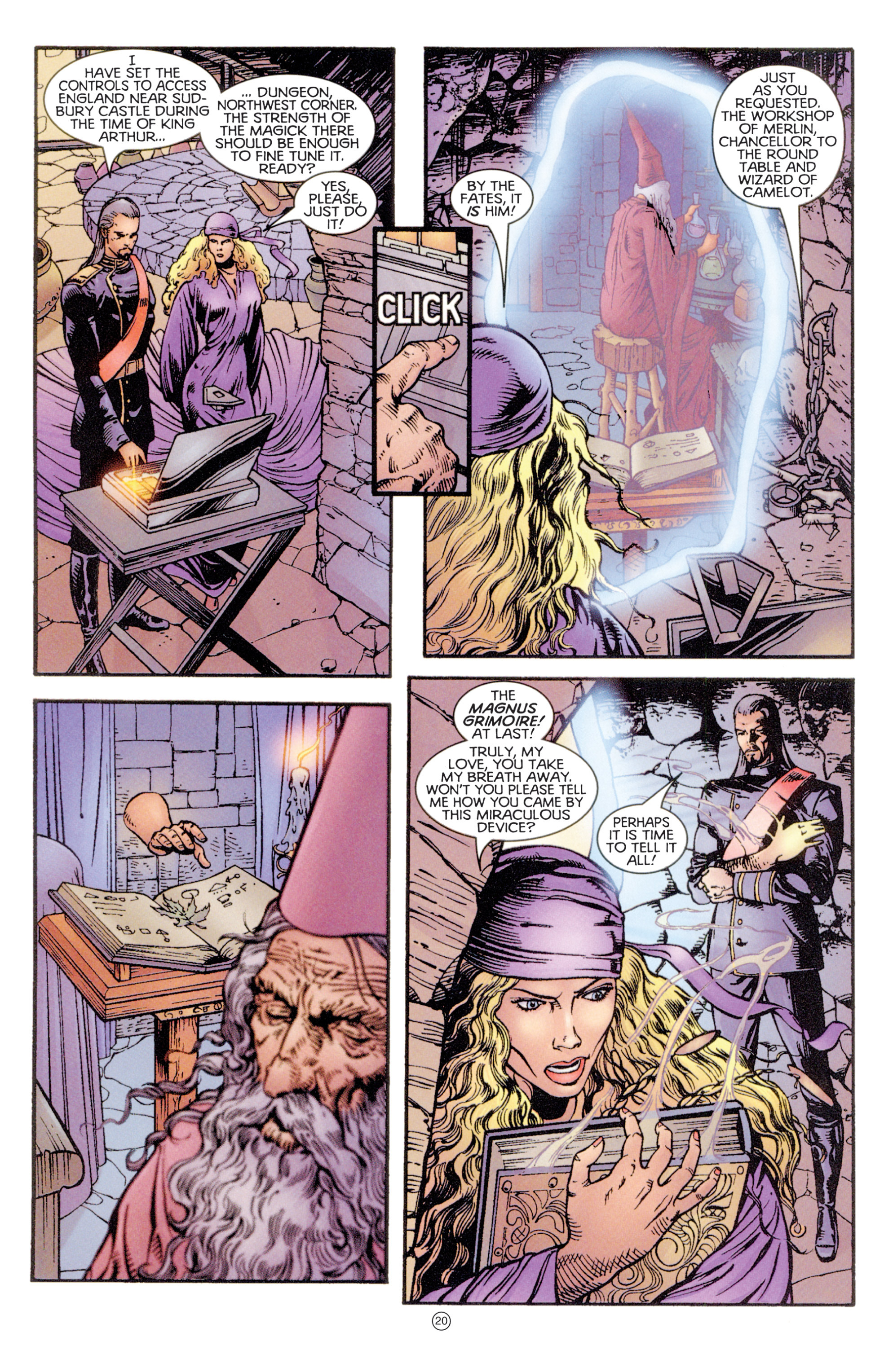 Read online Eternal Warriors comic -  Issue # Issue Digital Alchemy - 18