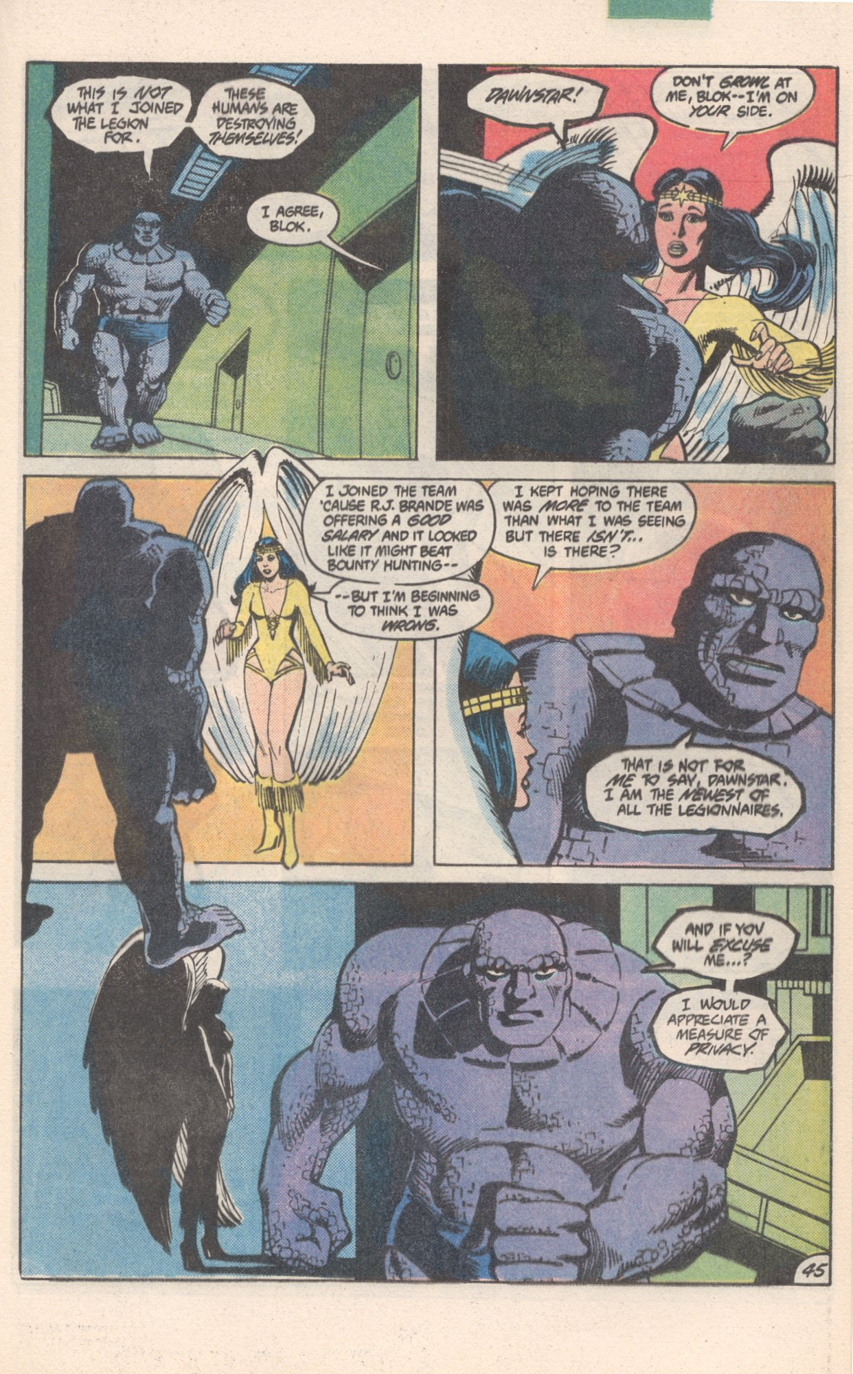 Legion of Super-Heroes (1980) 300 Page 45