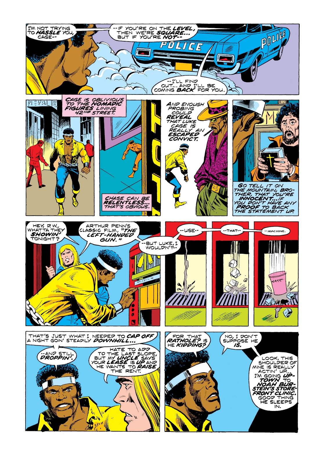 Read online Marvel Masterworks: Luke Cage, Power Man comic -  Issue # TPB 2 (Part 3) - 29