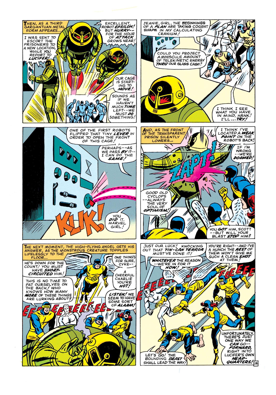 Read online Uncanny X-Men (1963) comic -  Issue #21 - 15