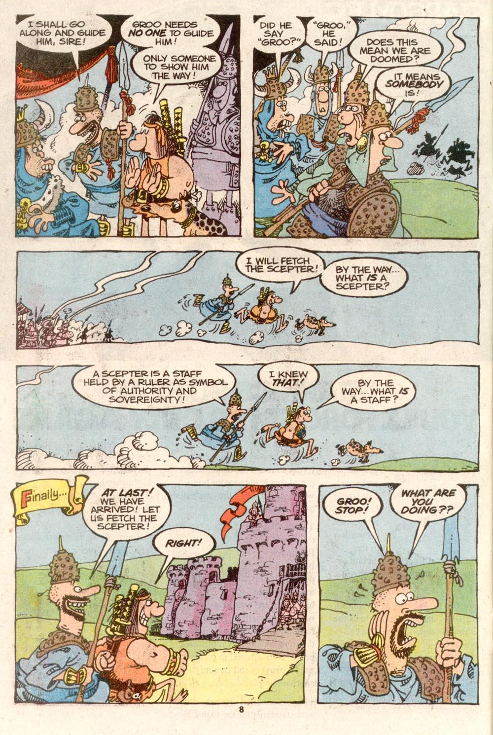 Read online Sergio Aragonés Groo the Wanderer comic -  Issue #73 - 7