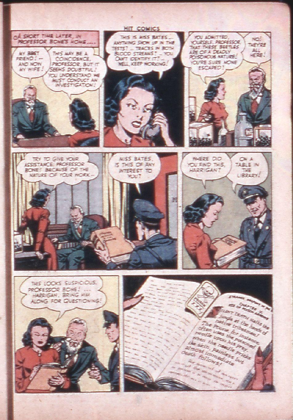 Read online Hit Comics comic -  Issue #33 - 32