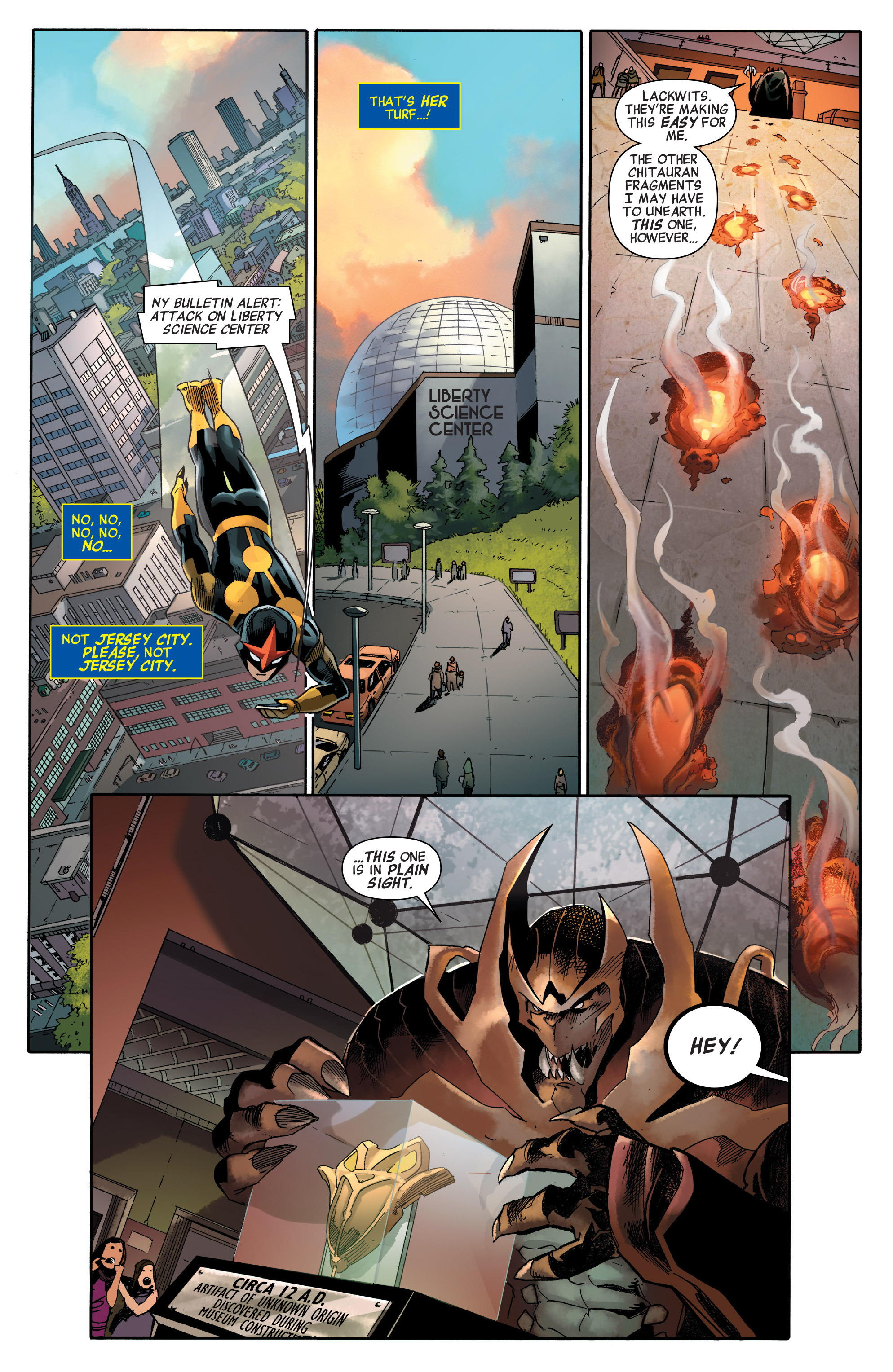 Read online All-New, All-Different Avengers comic -  Issue #2 - 7