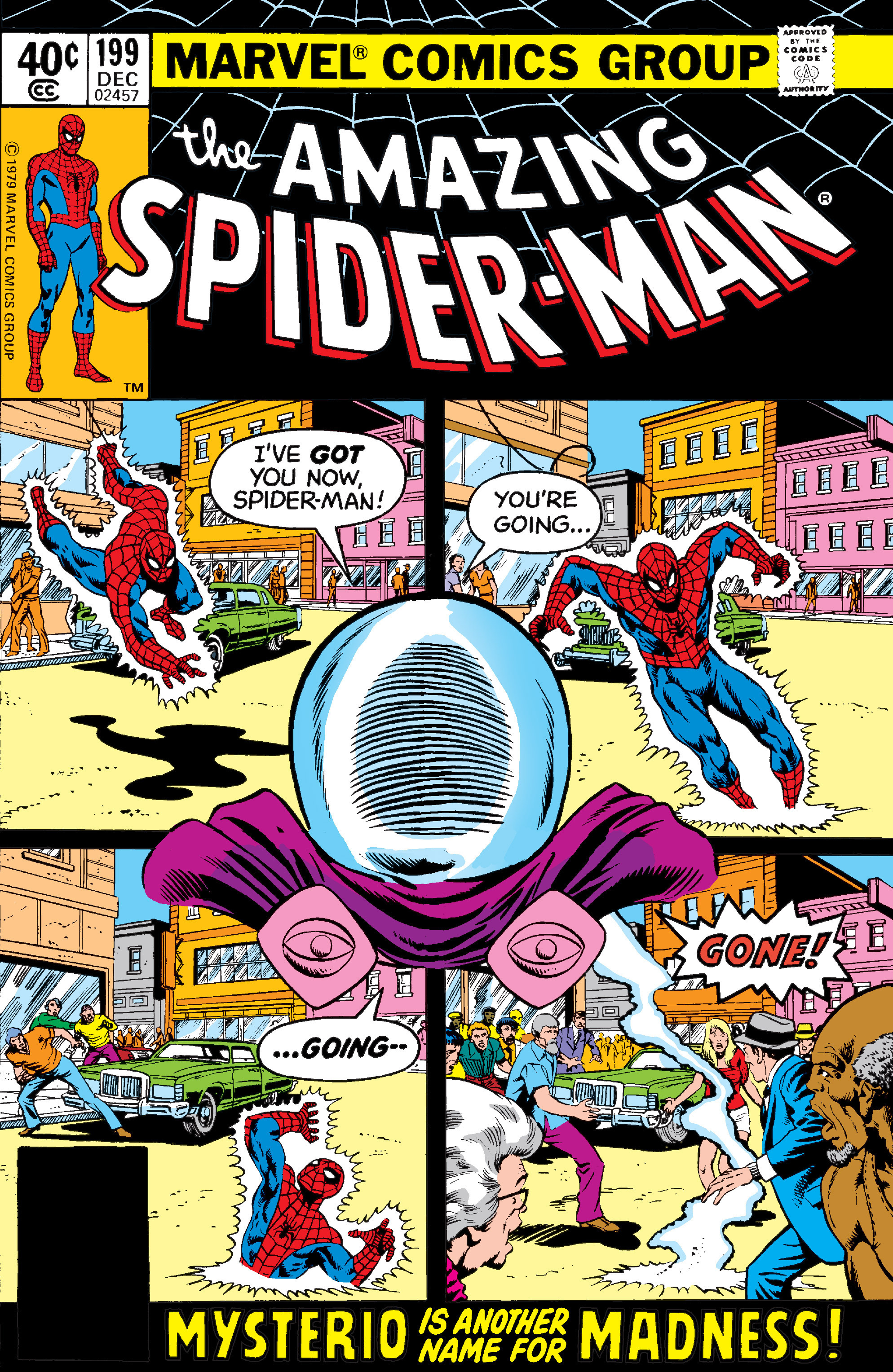 The Amazing Spider-Man (1963) 199 Page 0