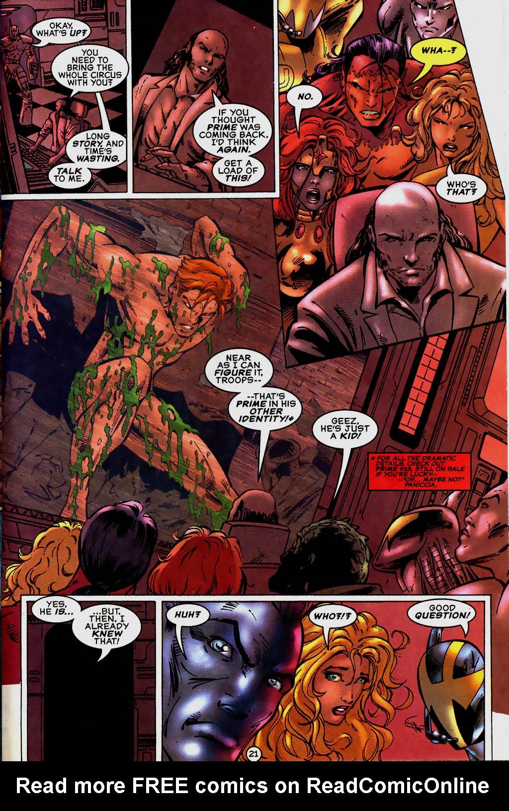 Read online UltraForce (1995) comic -  Issue #13 - 22