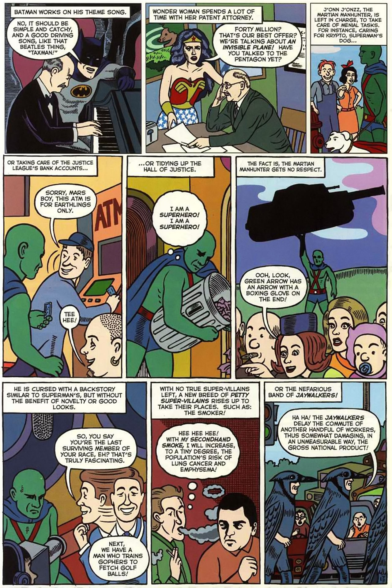 Read online Bizarro World comic -  Issue # TPB - 116