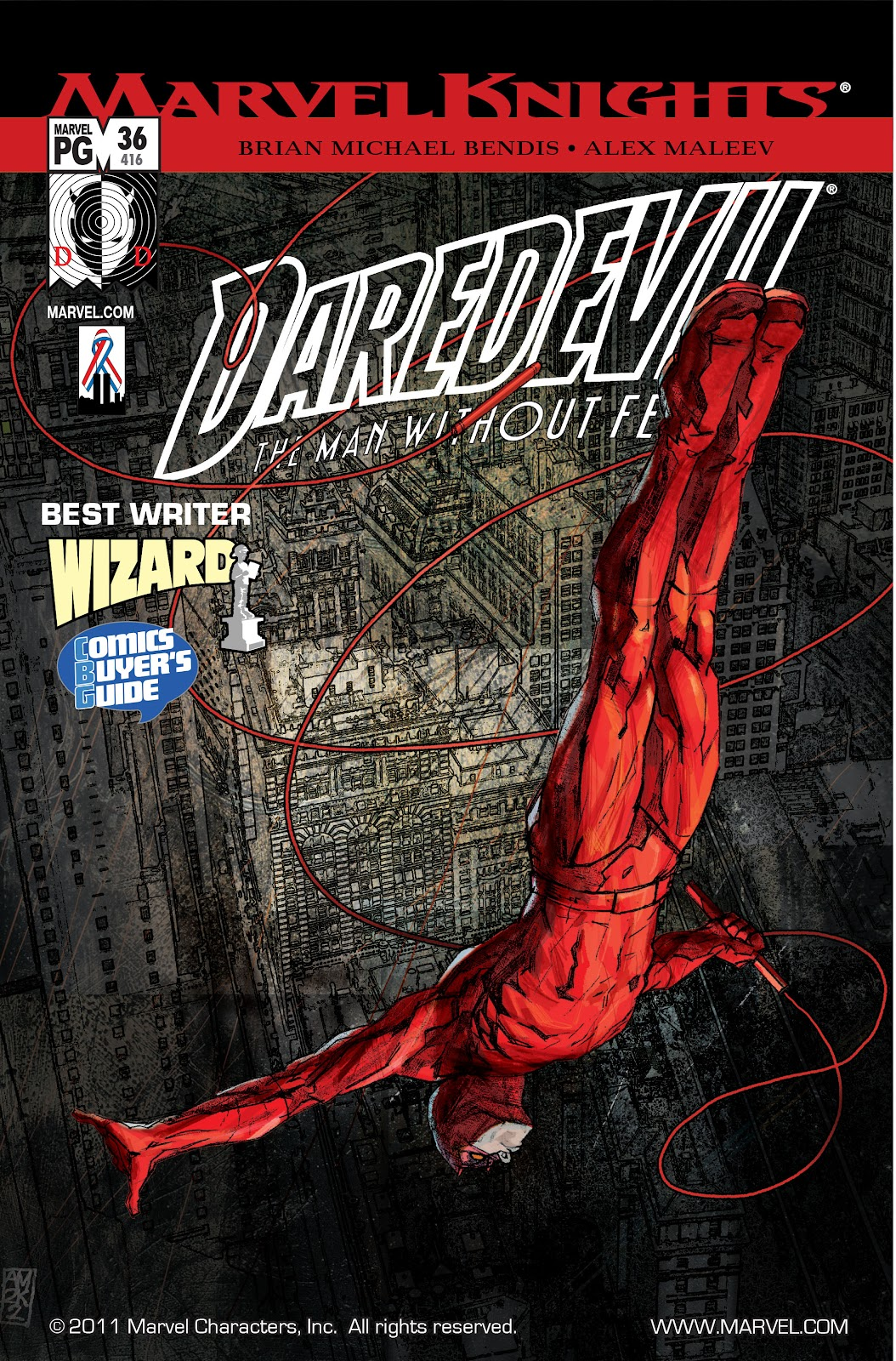 Read online Daredevil (1998) comic -  Issue # _Ultimate_Collection TPB 1 (Part 3) - 98