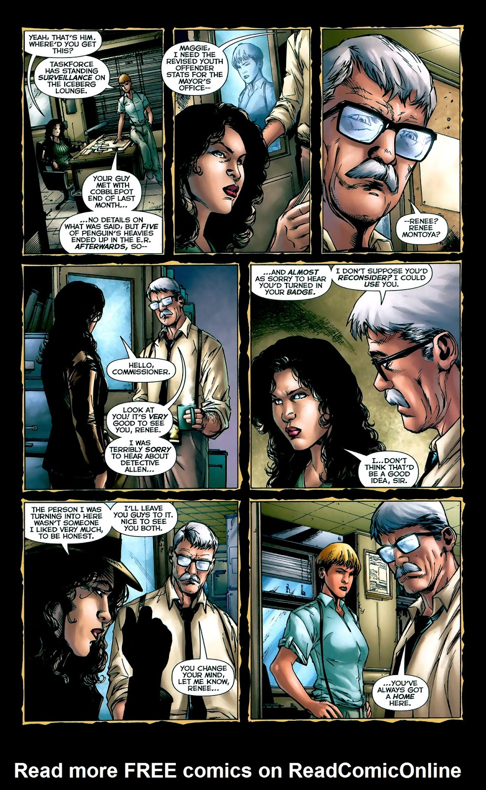 Crime Bible: The Five Lessons of Blood issue 3 - Page 7