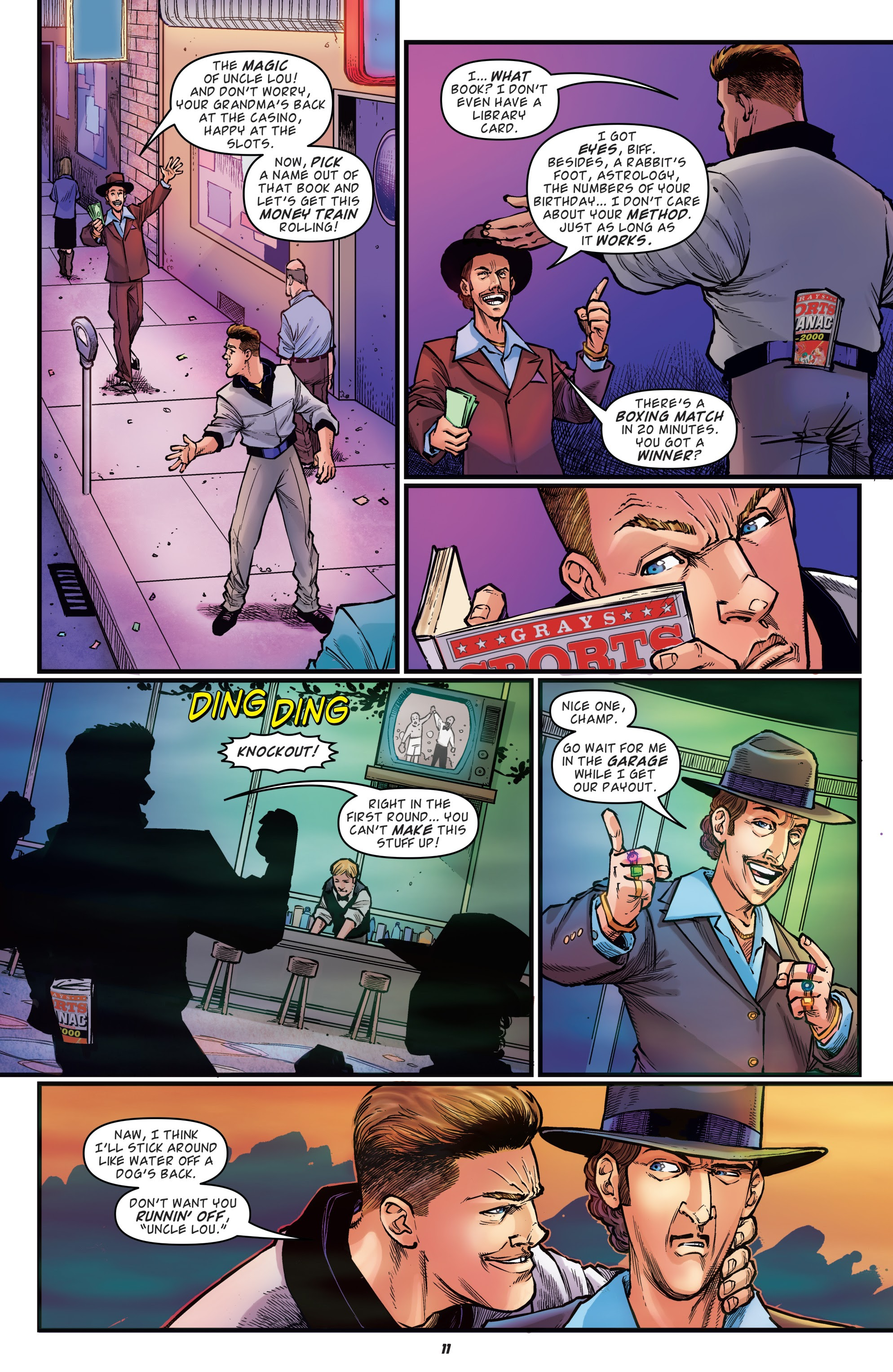 Read online Back to the Future: Biff to the Future comic -  Issue #1 - 13