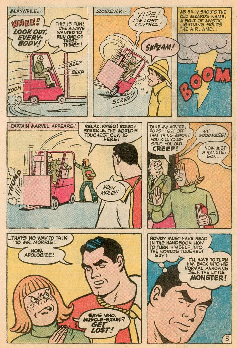 Read online Shazam! (1973) comic -  Issue #5 - 14