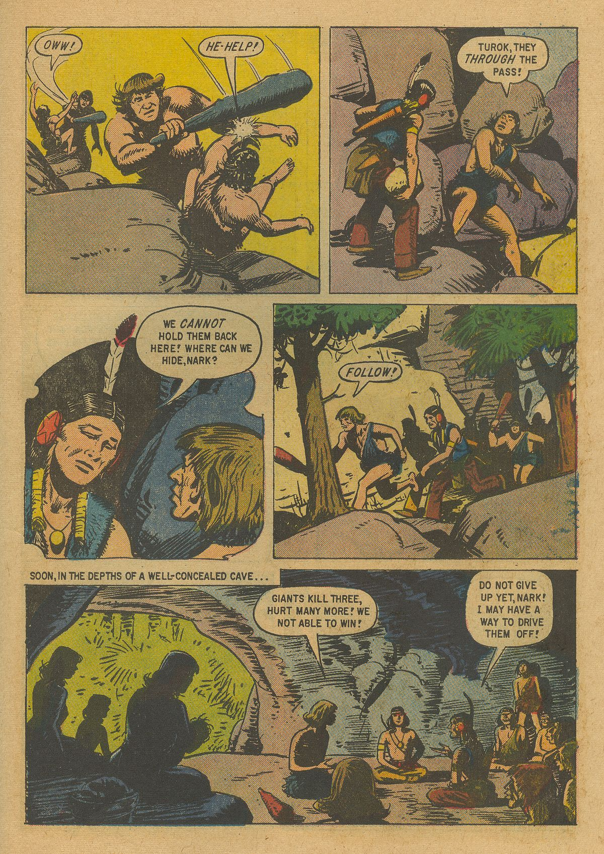 Read online Turok, Son of Stone comic -  Issue #19 - 27