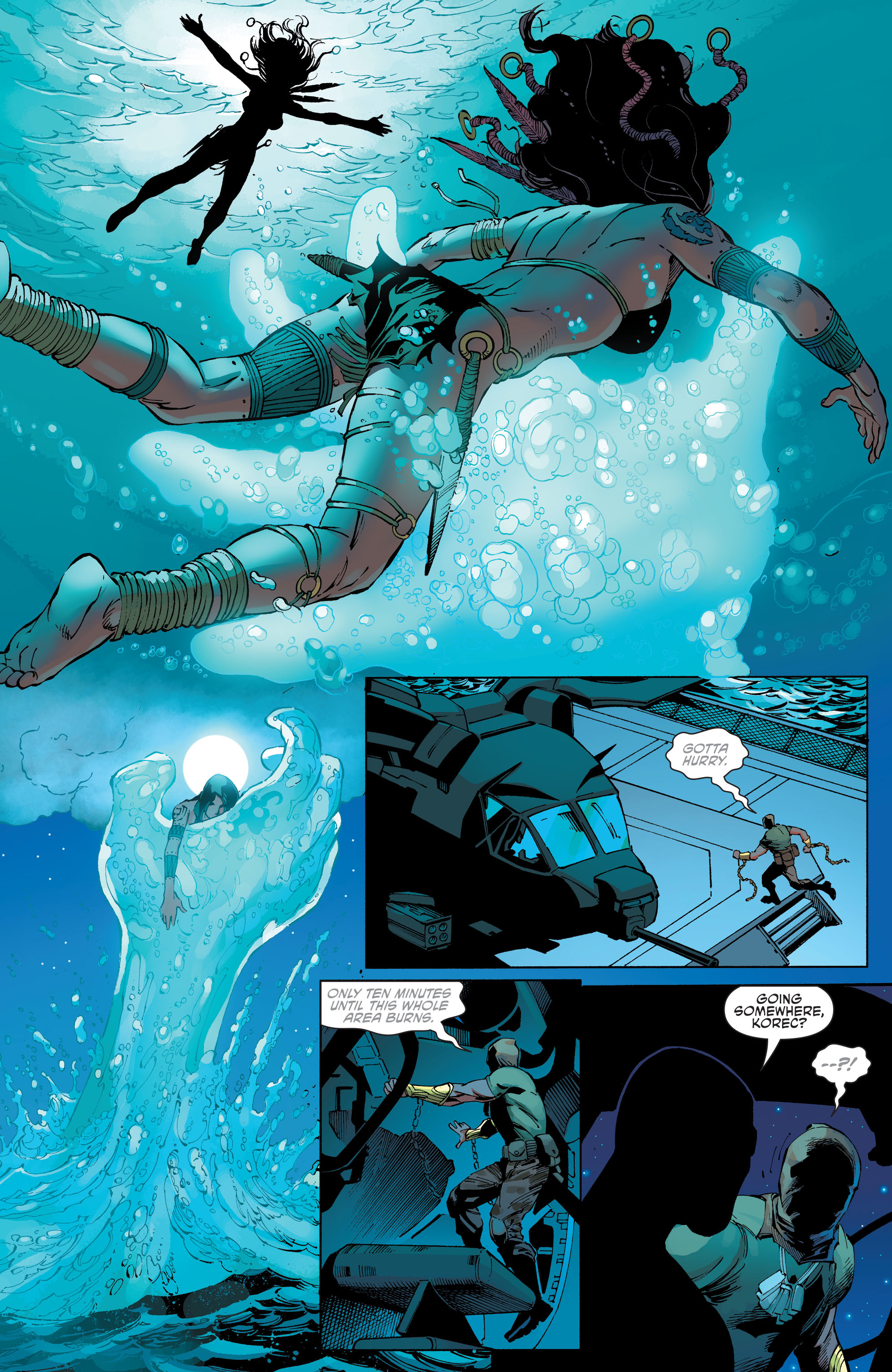 Read online Aquaman and the Others comic -  Issue #10 - 8