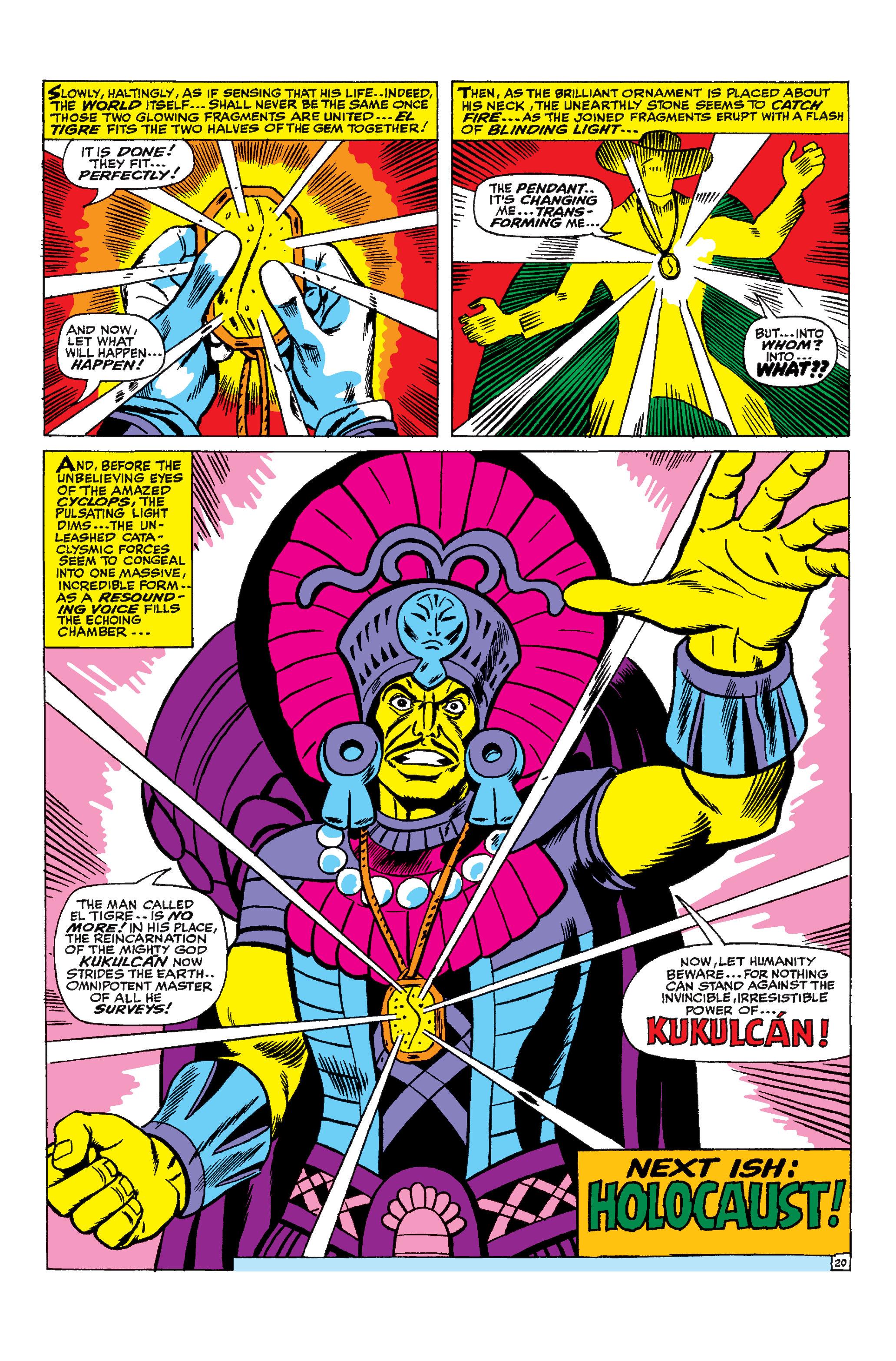 Uncanny X-Men (1963) 25 Page 20