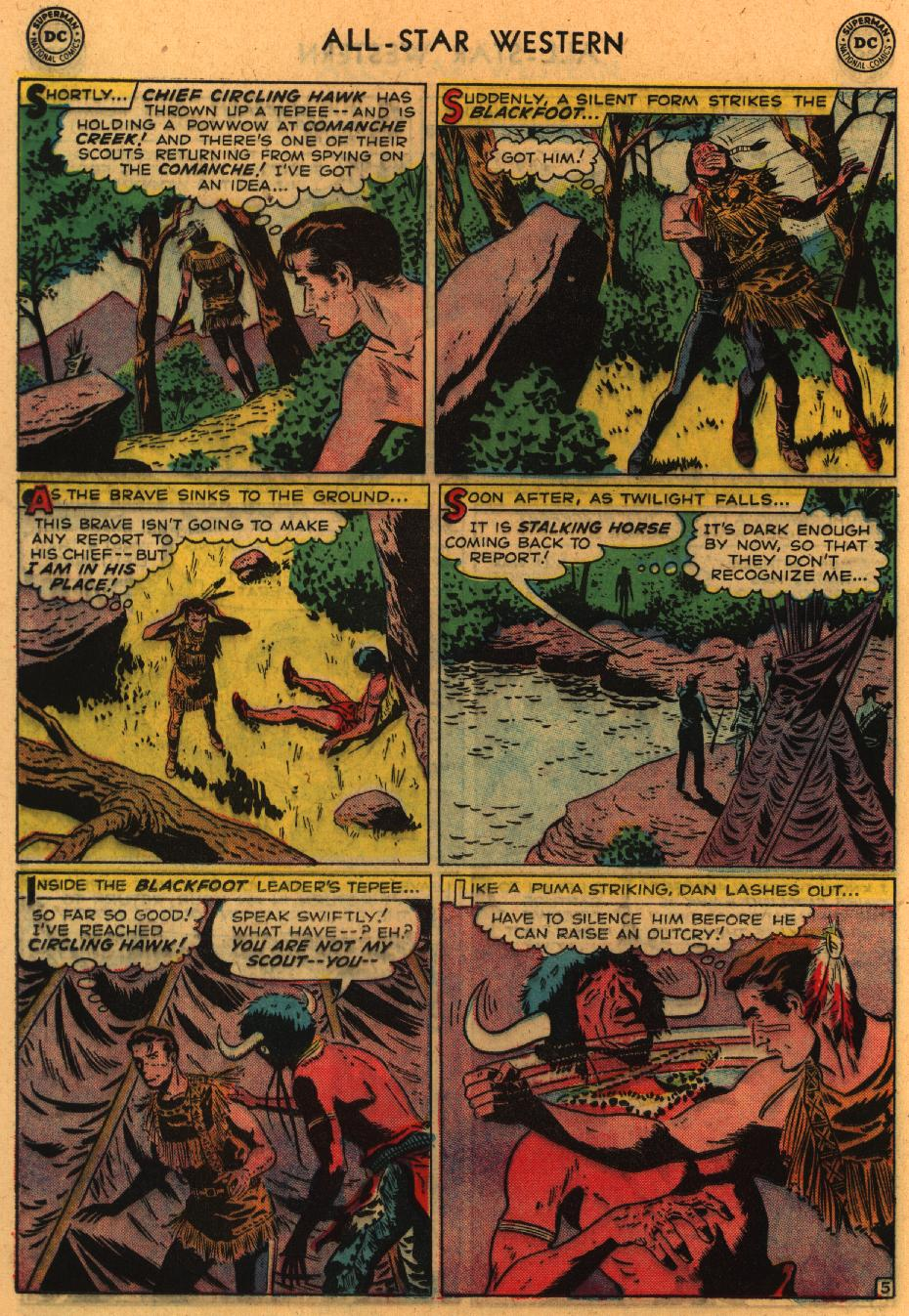 Read online All-Star Western (1951) comic -  Issue #98 - 25