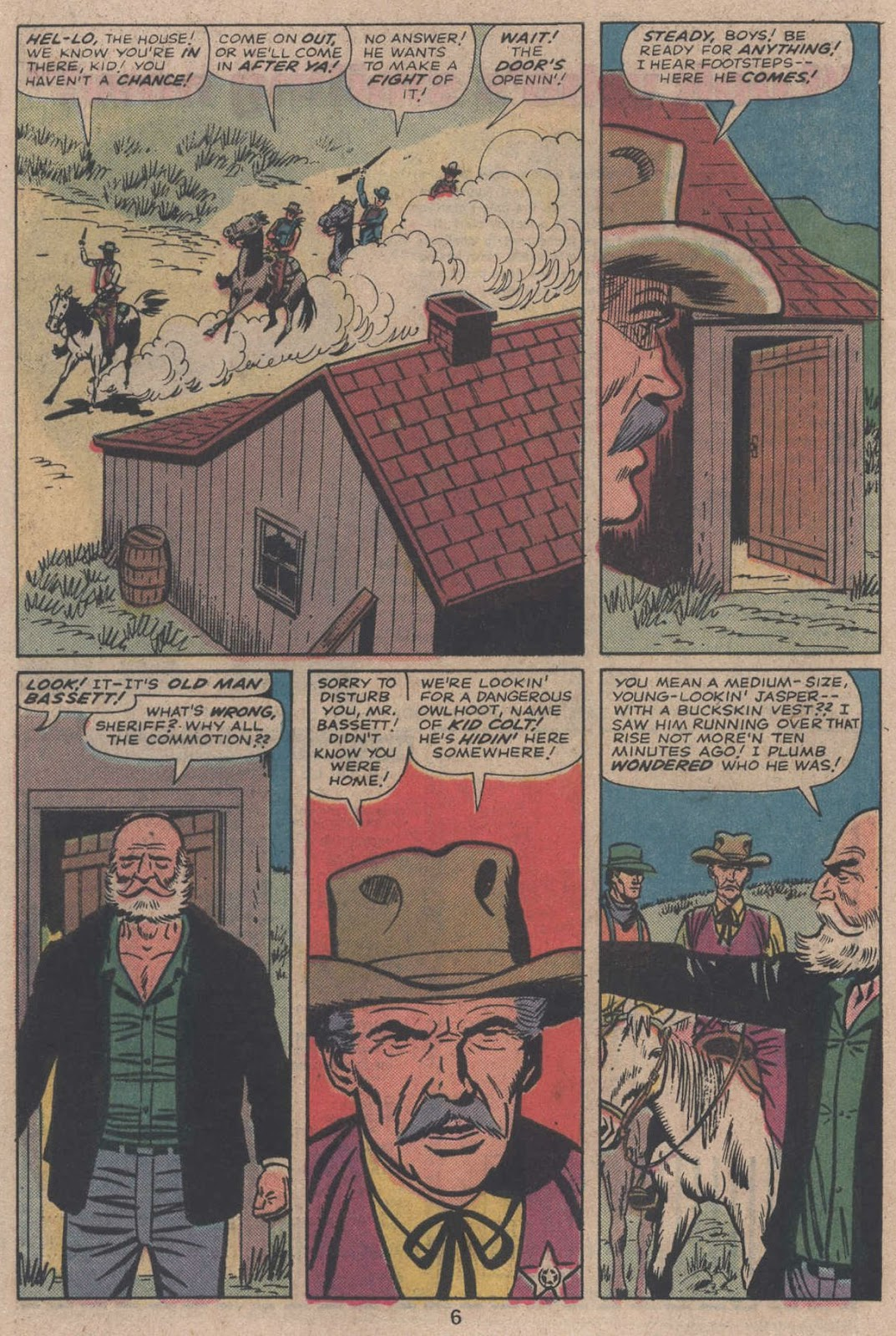 Kid Colt Outlaw issue 195 - Page 8