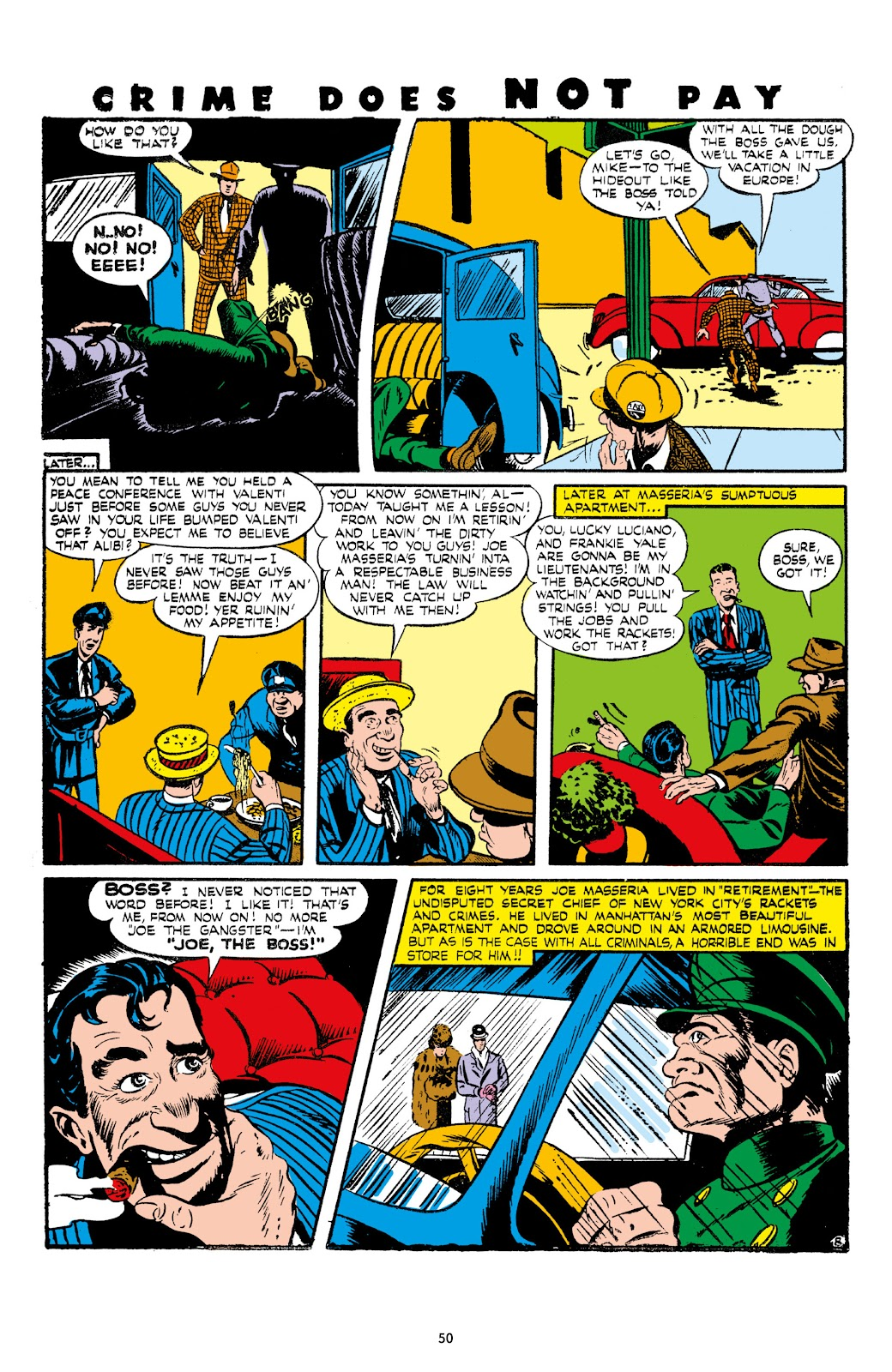 Read online Crime Does Not Pay Archives comic -  Issue # TPB 7 (Part 1) - 52