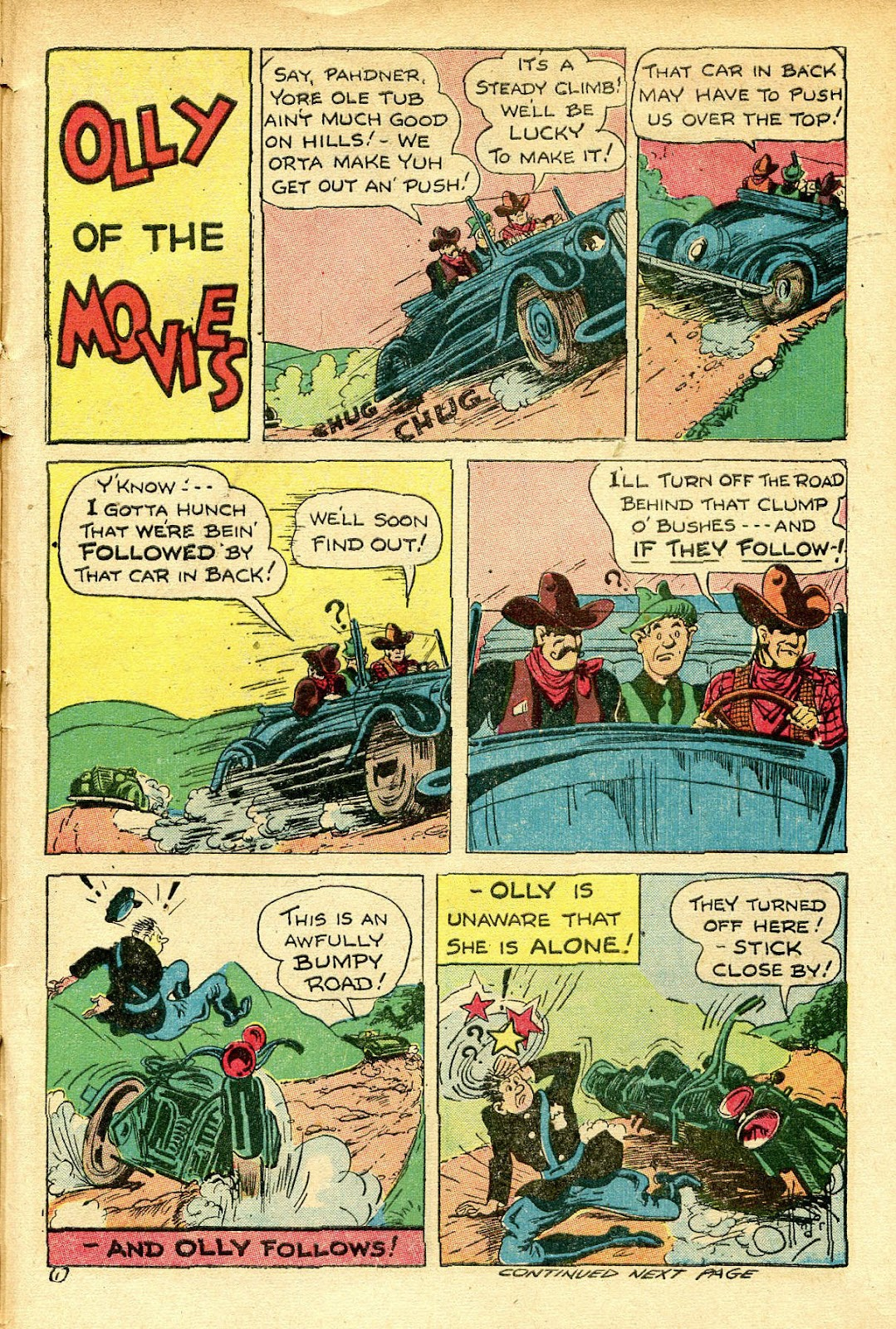 Read online Famous Funnies comic -  Issue #129 - 45