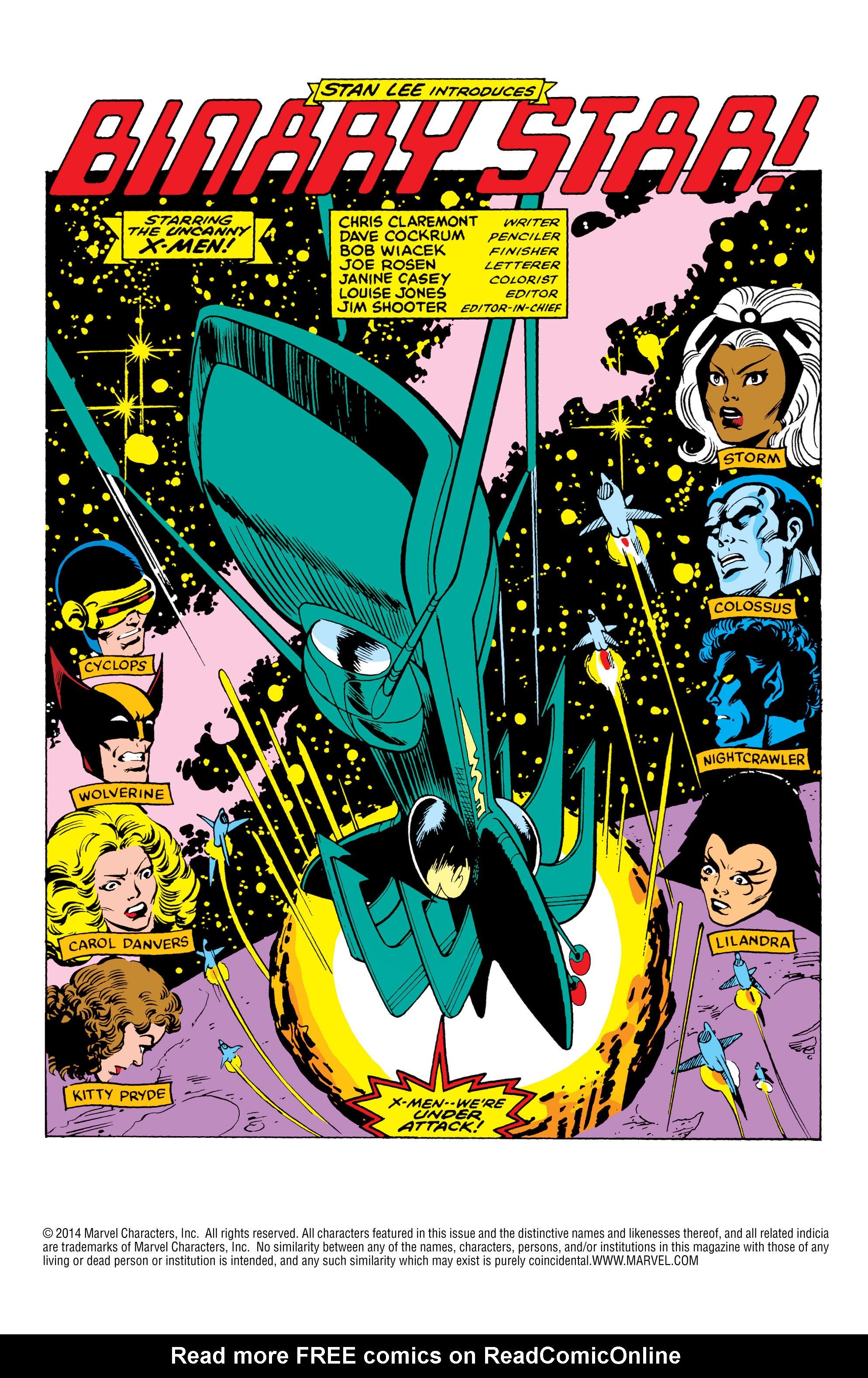 Read online Uncanny X-Men (1963) comic -  Issue #164 - 2
