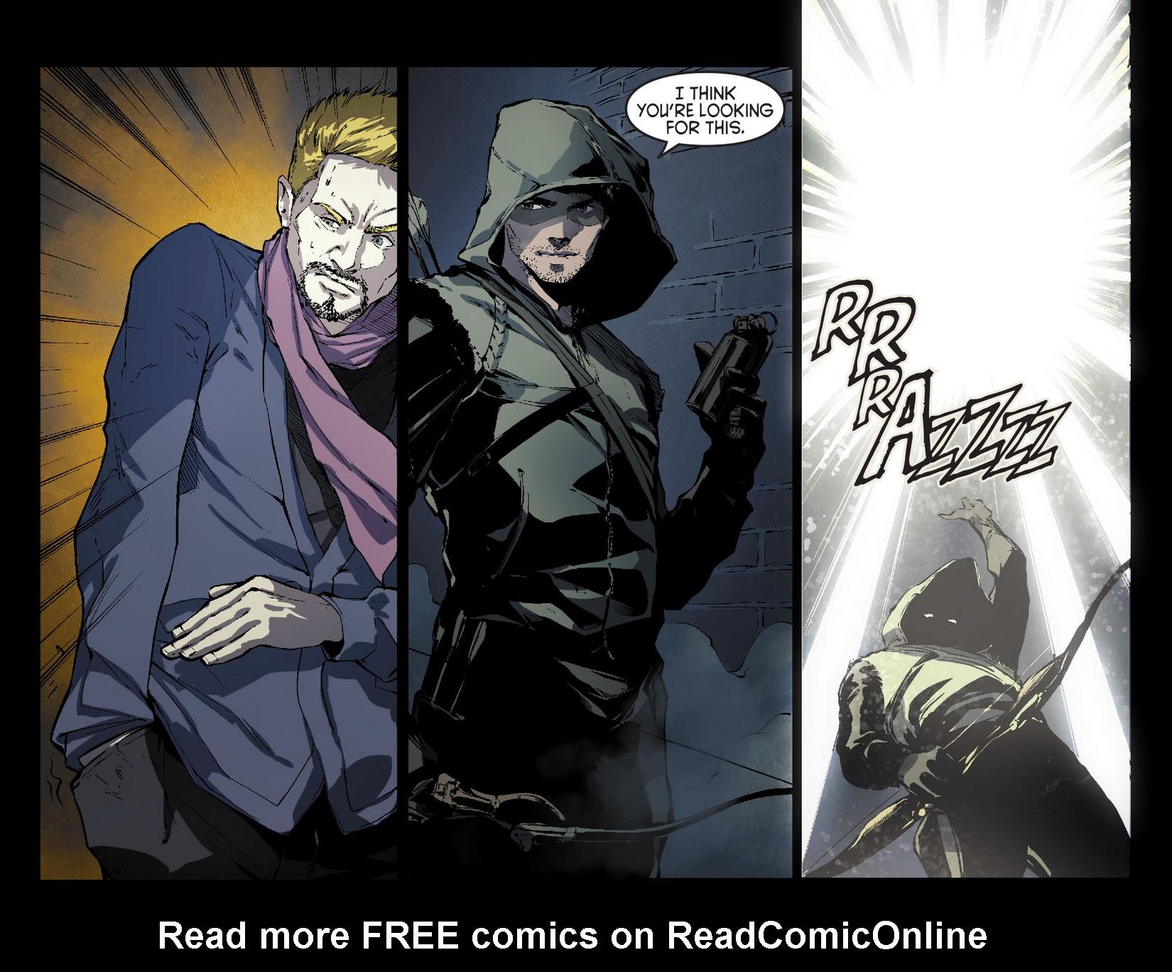 Read online Arrow [II] comic -  Issue #7 - 19