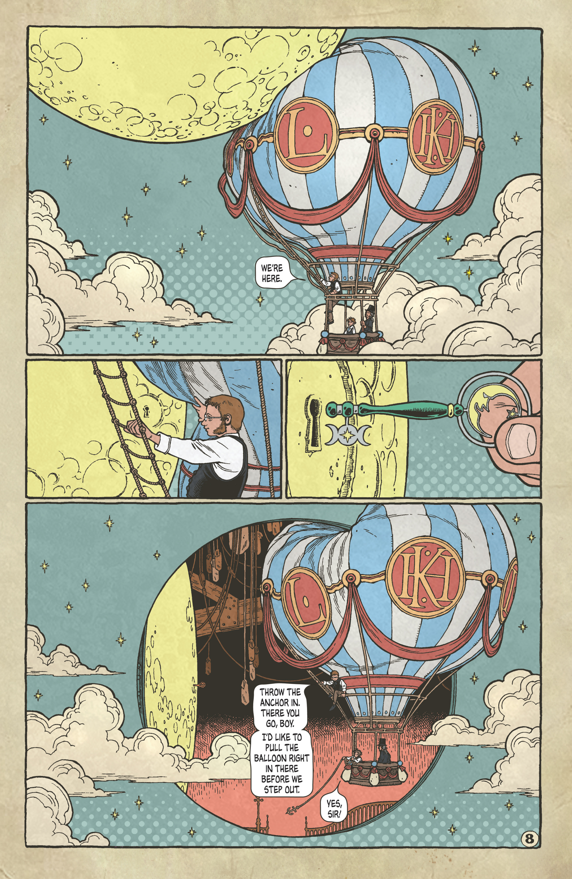 Read online Locke & Key: Guide to the Known Keys comic -  Issue # Full - 10