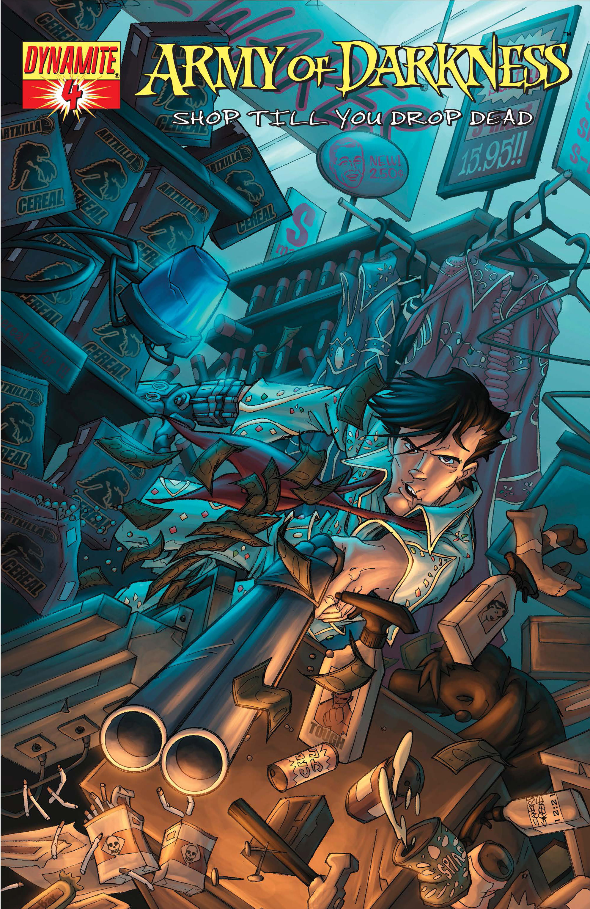 Read online Army of Darkness: Shop Till You Drop Dead comic -  Issue #Army of Darkness: Shop Till You Drop Dead TPB - 84