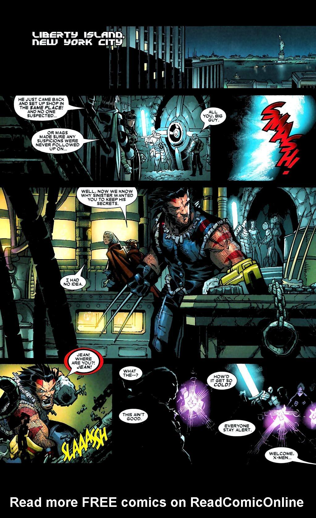 Read online Age of Apocalypse (2005) comic -  Issue #5 - 18