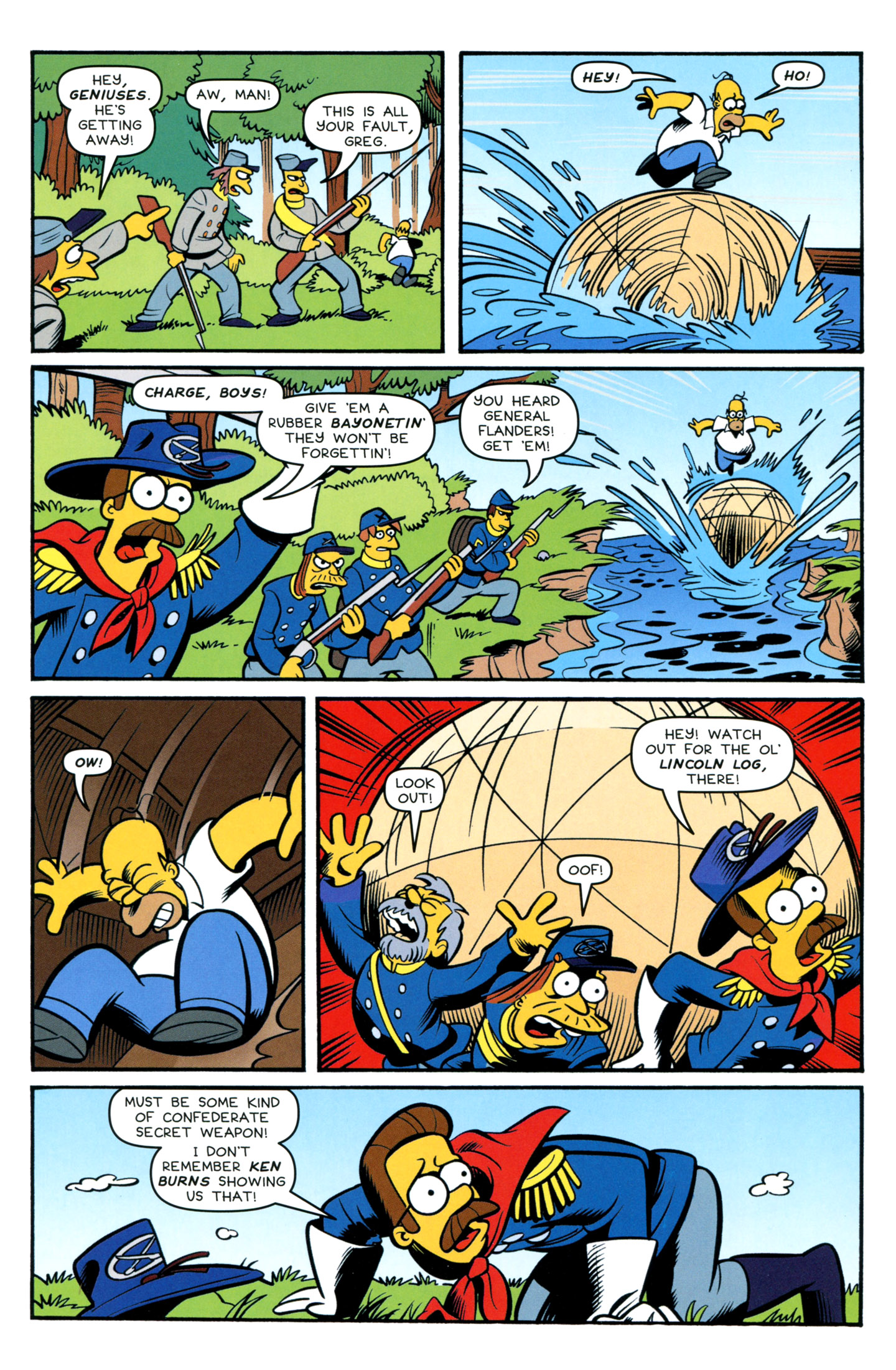 Read online Simpsons Comics comic -  Issue #195 - 17