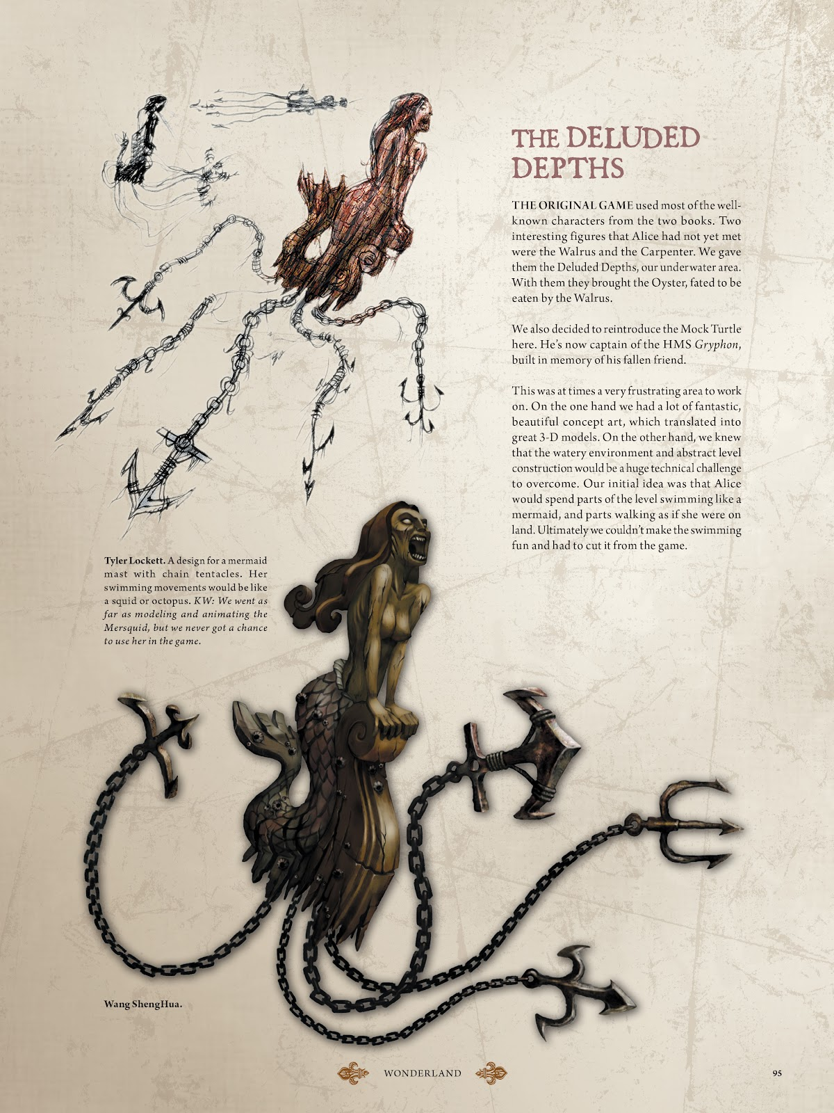 Read online The Art of Alice: Madness Returns comic -  Issue # TPB (Part 1) - 85