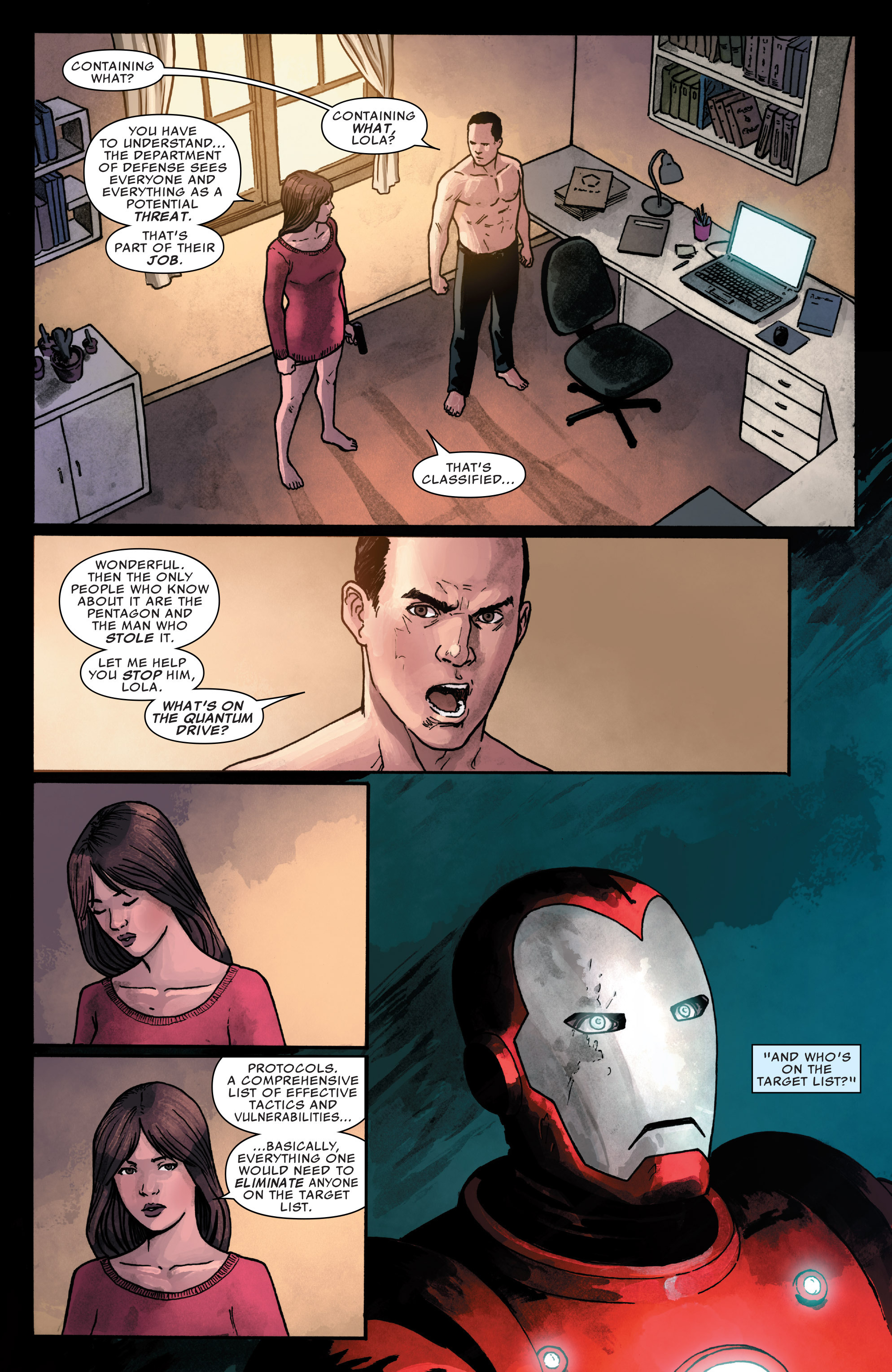 Read online Agents of S.H.I.E.L.D. comic -  Issue #1 - 21